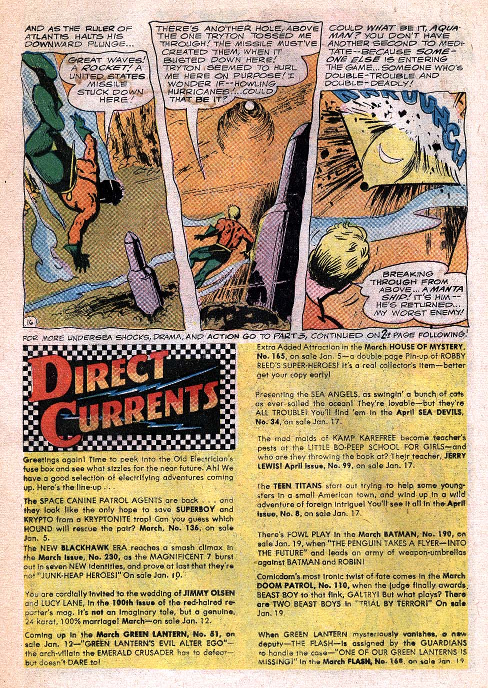 Read online Aquaman (1962) comic -  Issue #32 - 22