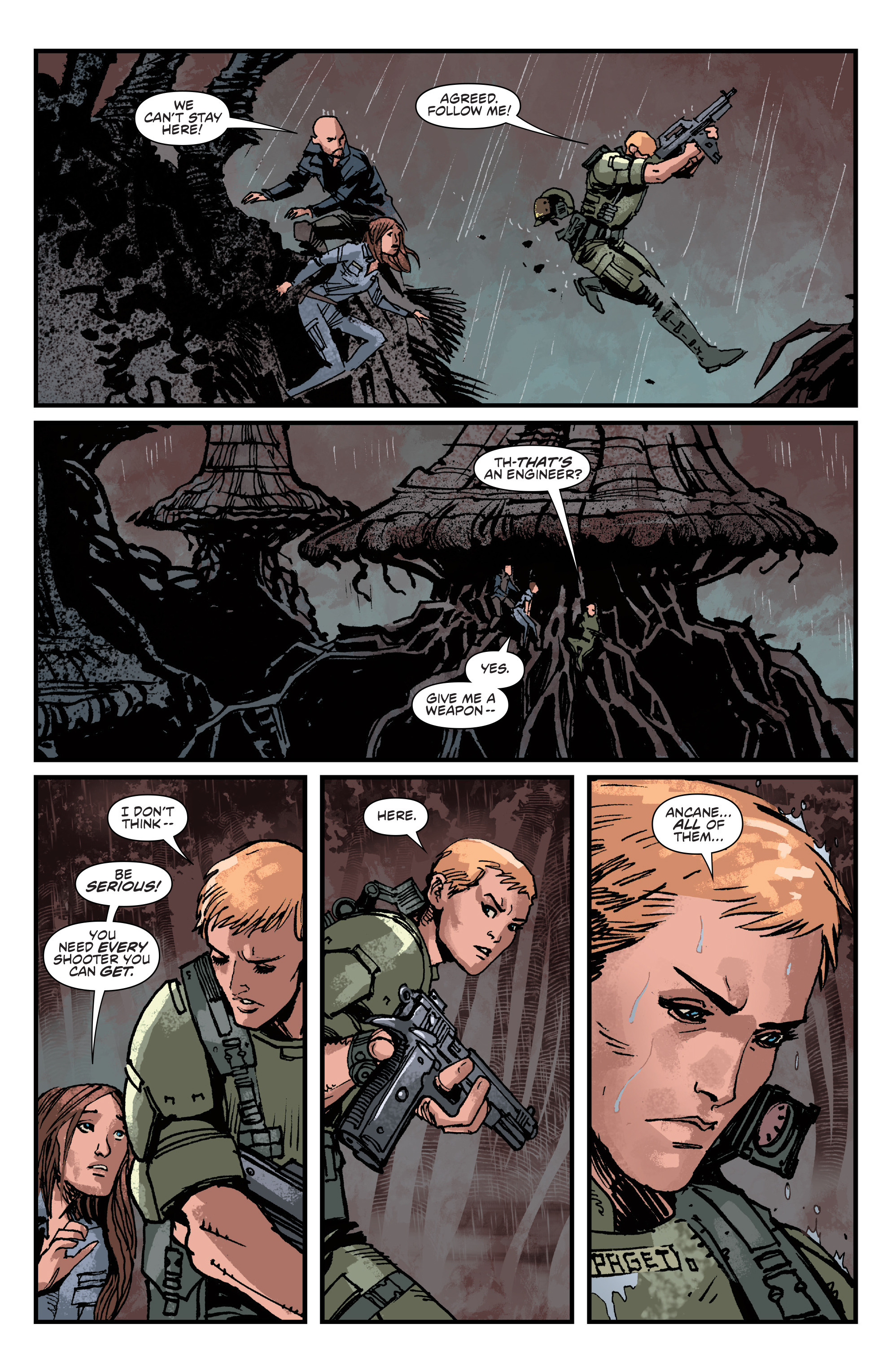 Read online Aliens: Life And Death comic -  Issue #4 - 9
