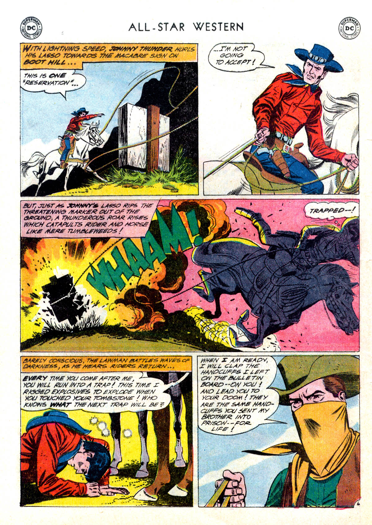 Read online All-Star Western (1951) comic -  Issue #116 - 8