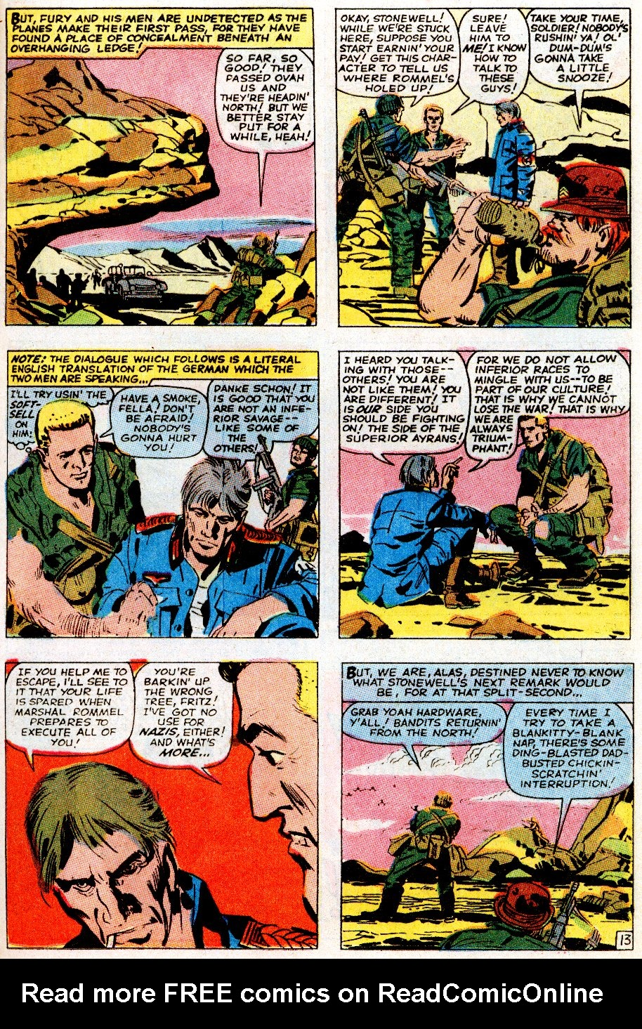 Read online Sgt. Fury comic -  Issue # _Special 5 - 17