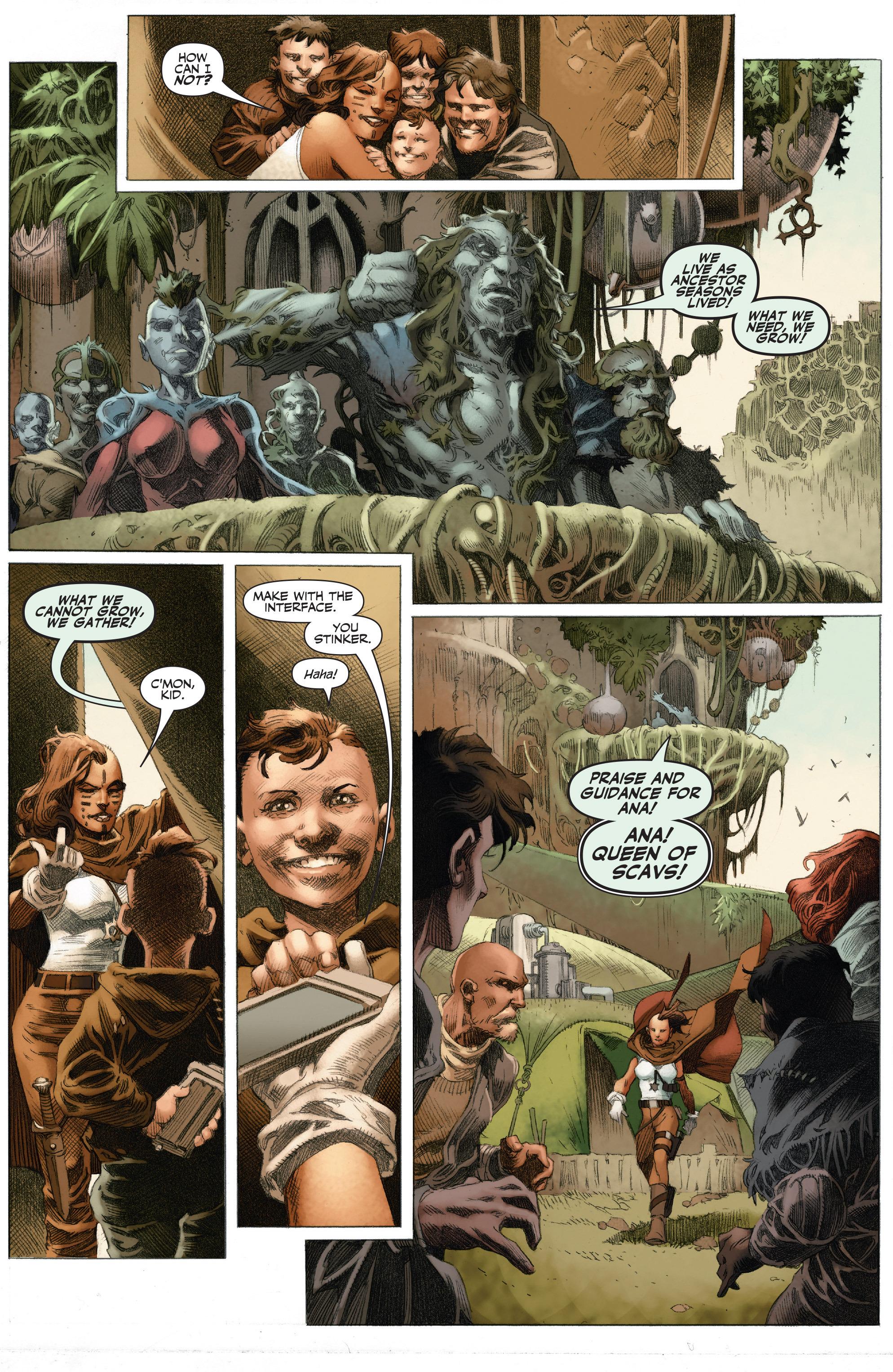 Read online 4001 A.D.: War Mother comic -  Issue #4001 A.D.: War Mother Full - 5