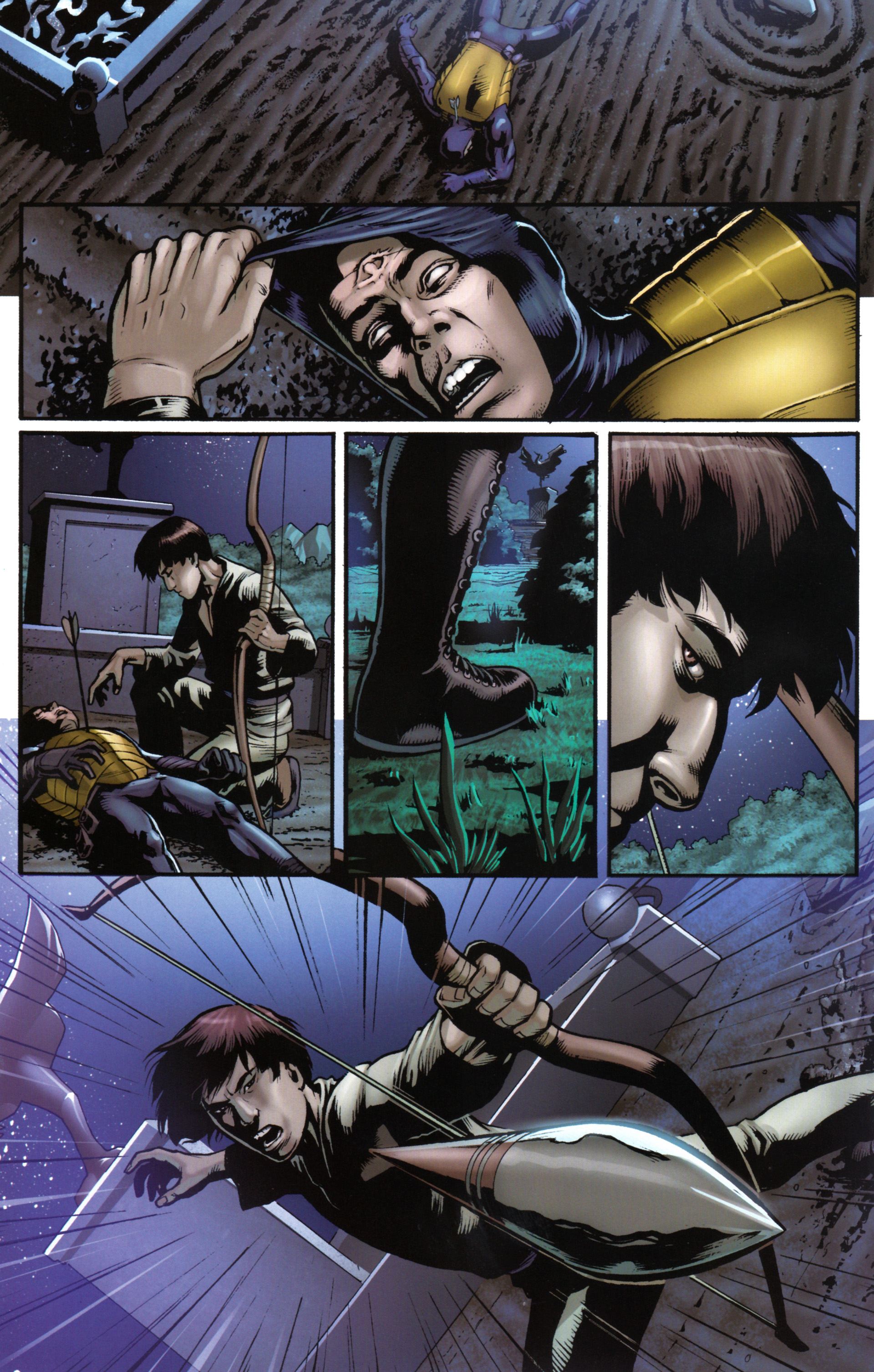 Read online Snake Eyes and Storm Shadow comic -  Issue #17 - 22