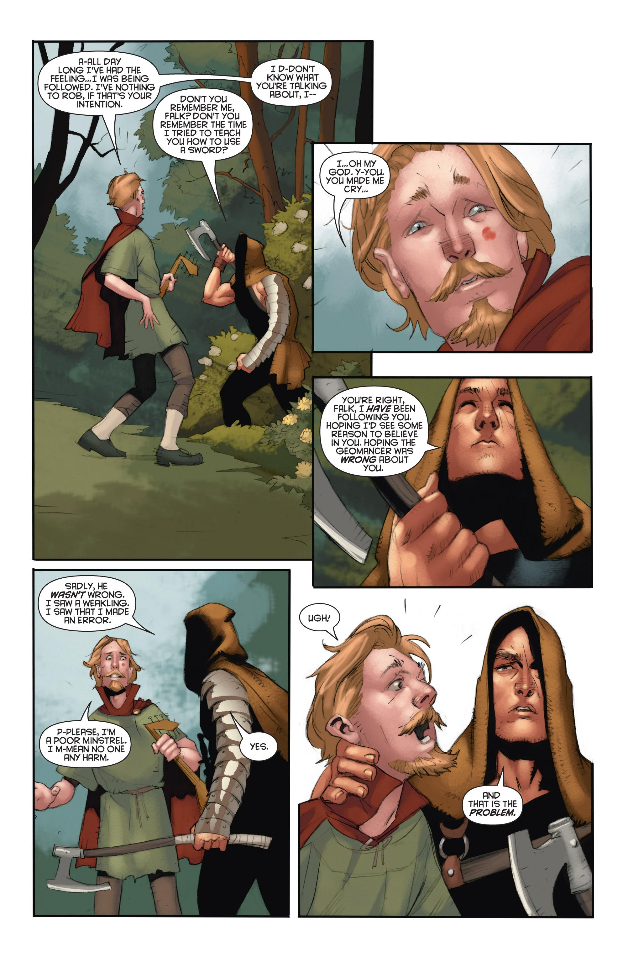 Read online Eternal Warrior: Days of Steel comic -  Issue #2 - 23
