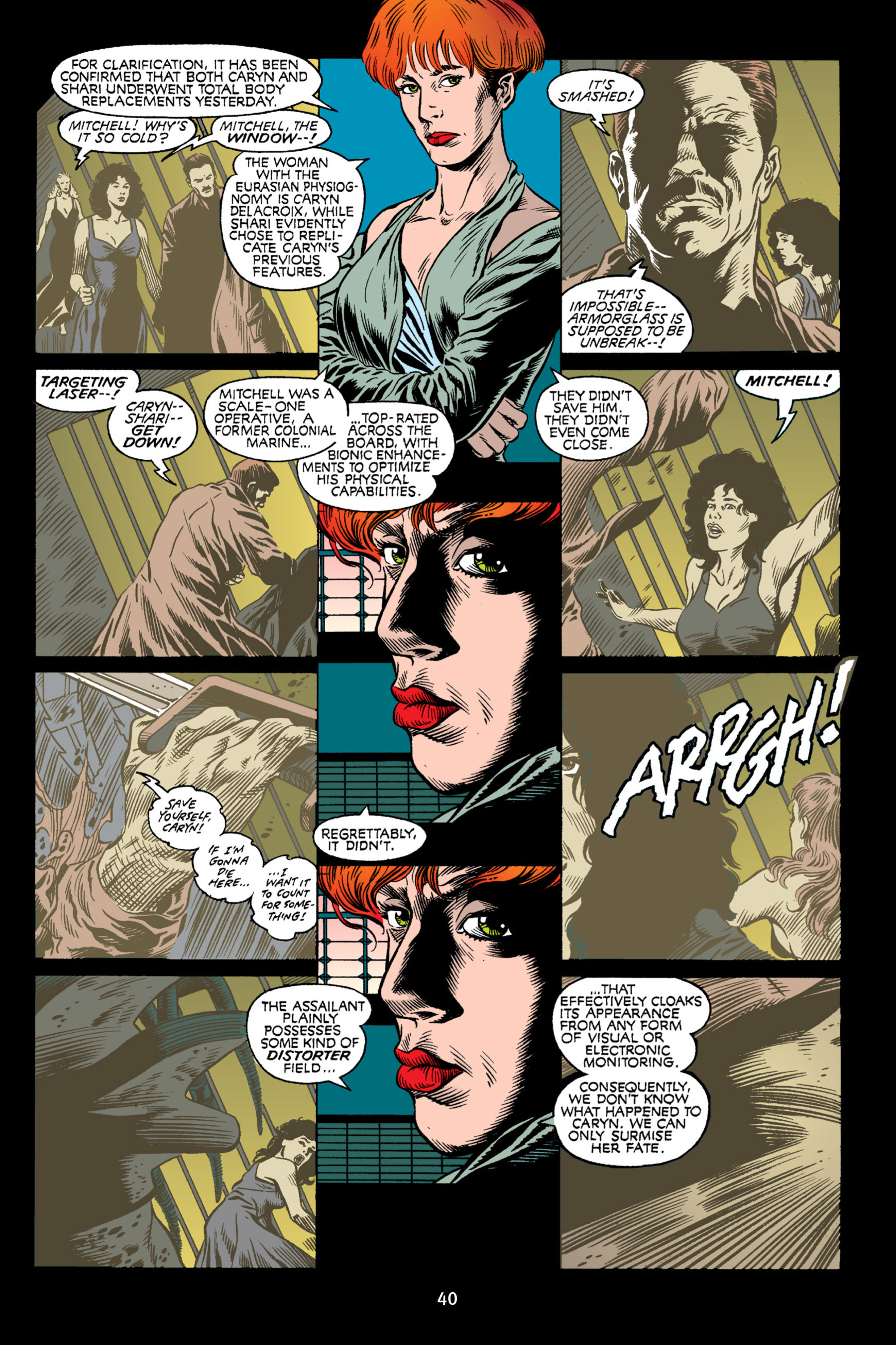 Read online Aliens vs. Predator Omnibus comic -  Issue # _TPB 2 Part 1 - 40