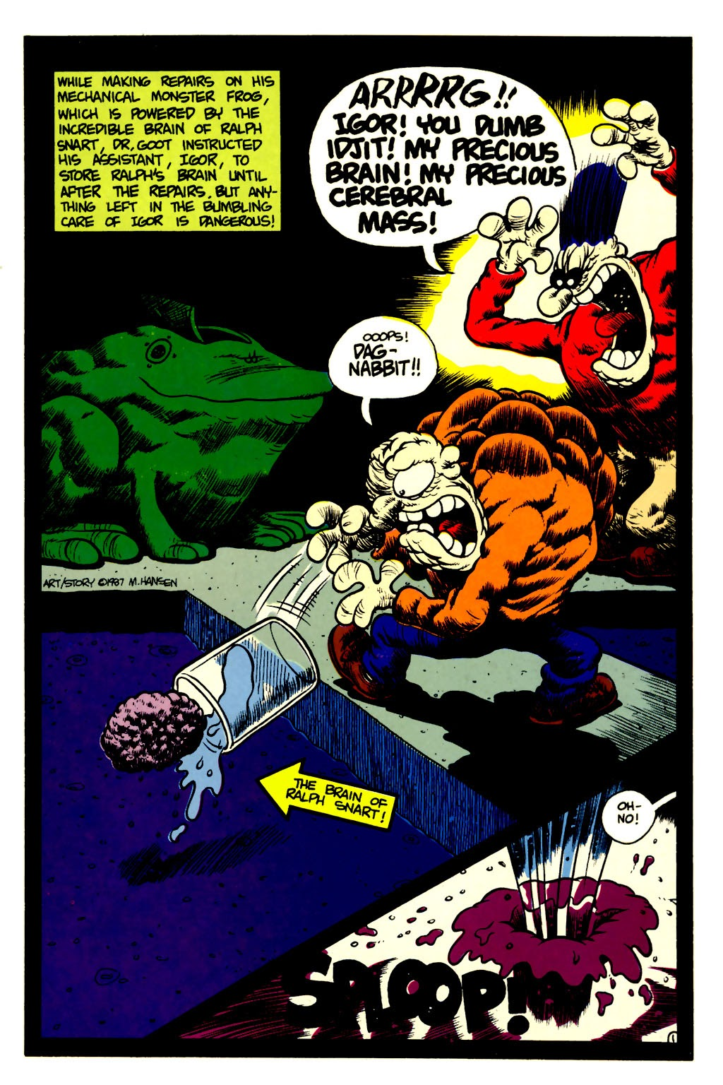 Ralph Snart Adventures (1988) issue 6 - Page 2