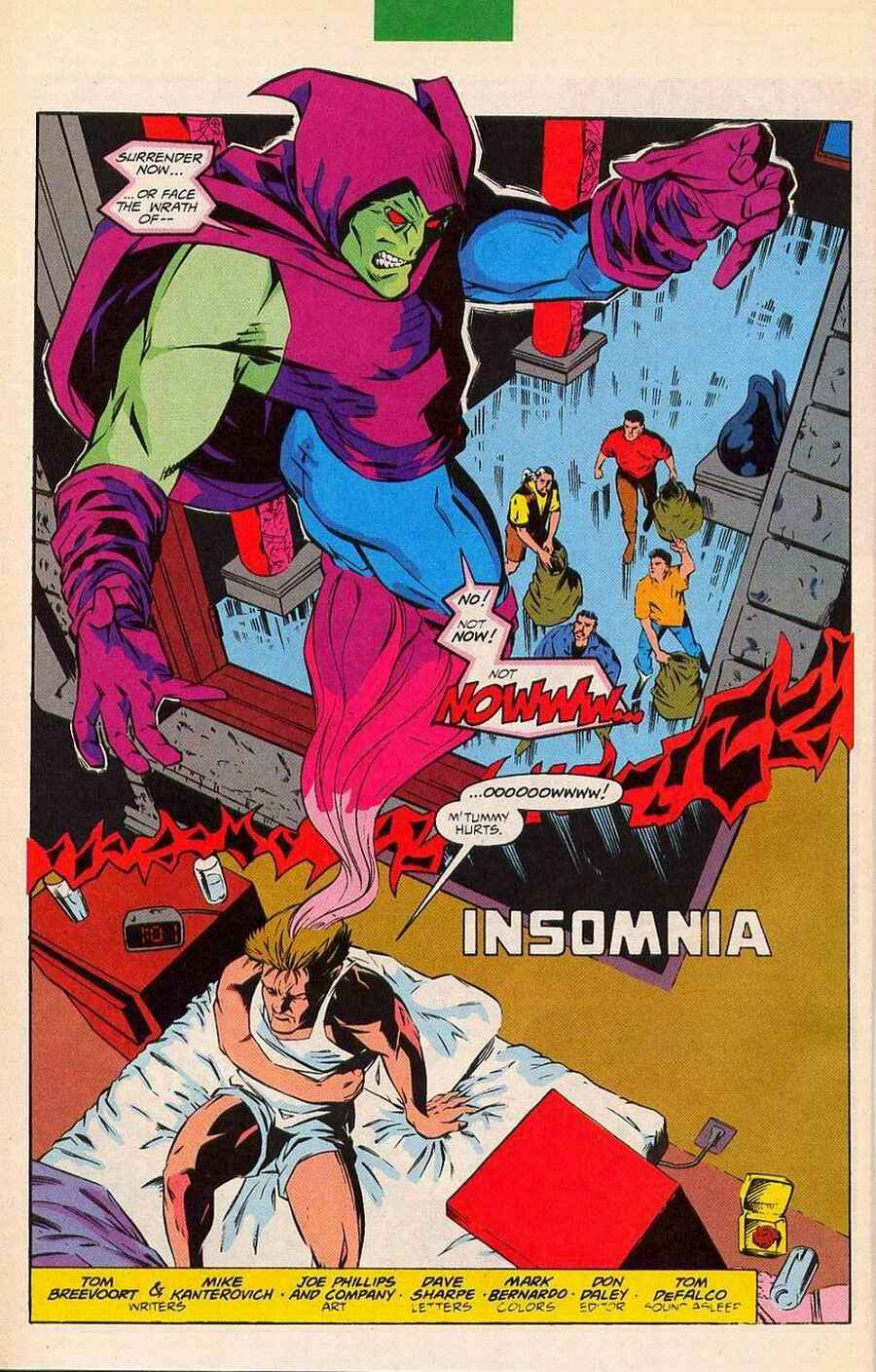 Read online Sleepwalker Holiday Special comic -  Issue # Full - 29