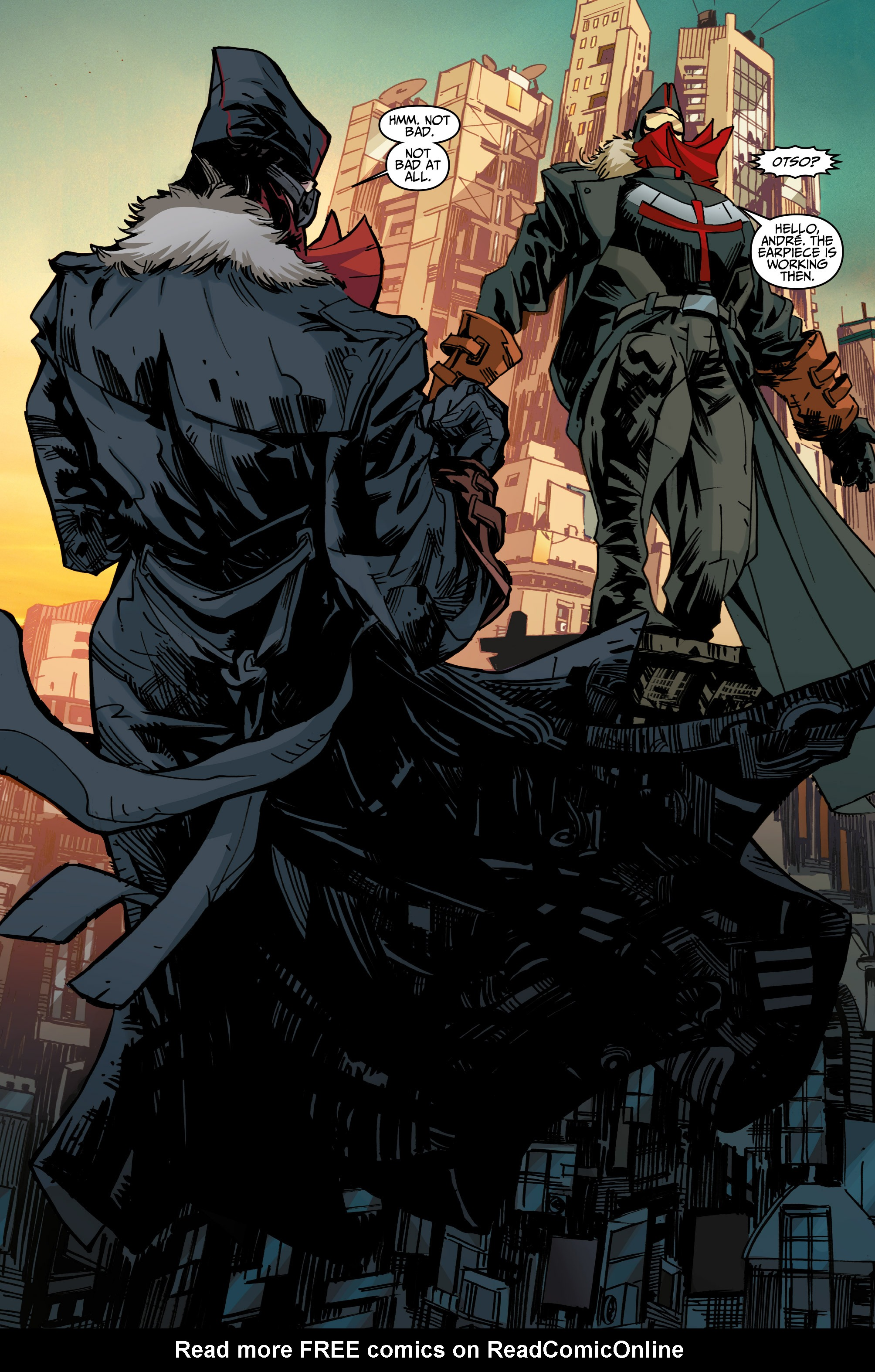 Read online Assassin's Creed: Uprising comic -  Issue #1 - 25