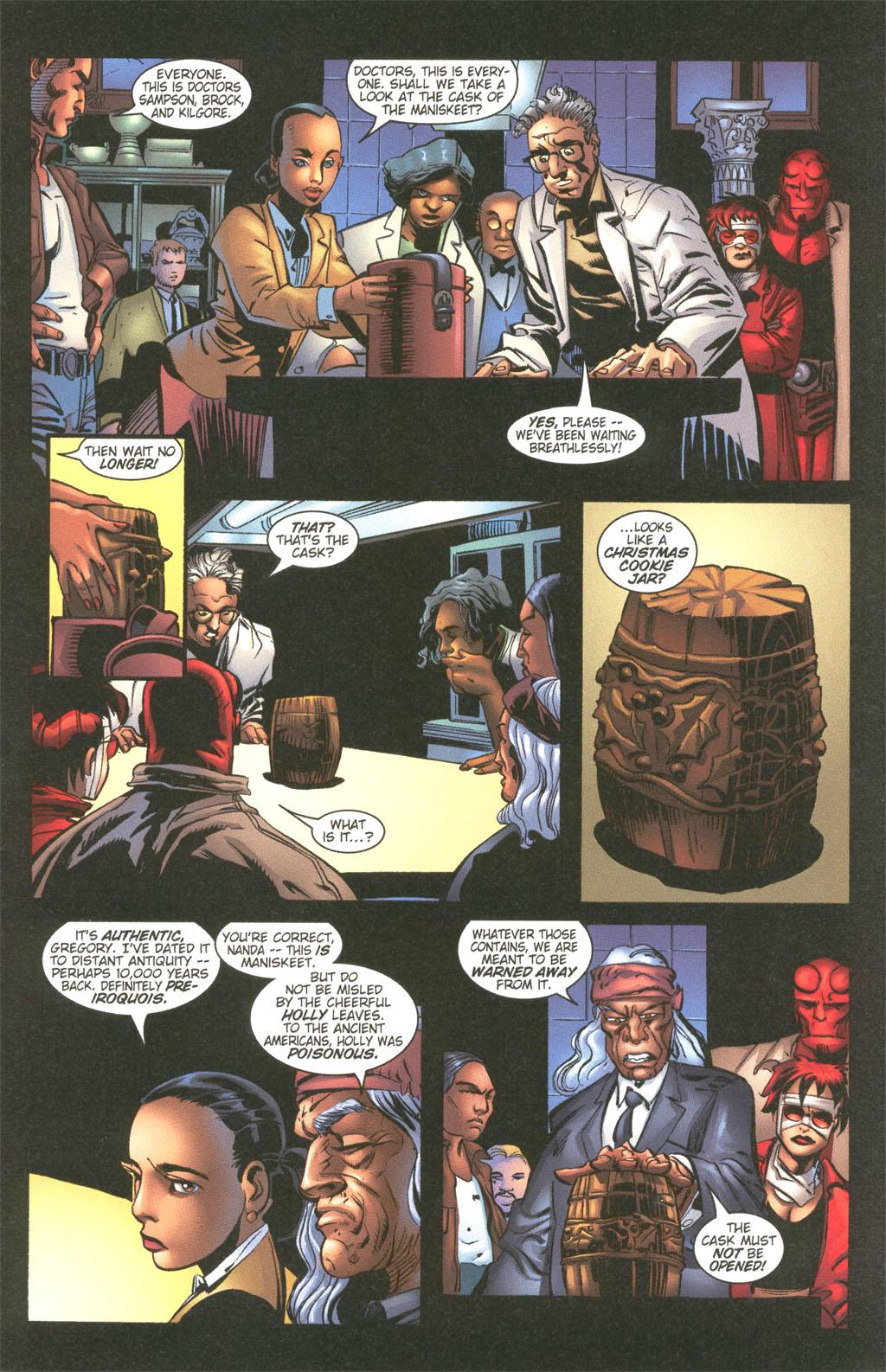 Read online Painkiller Jane/Hellboy comic -  Issue # Full - 7