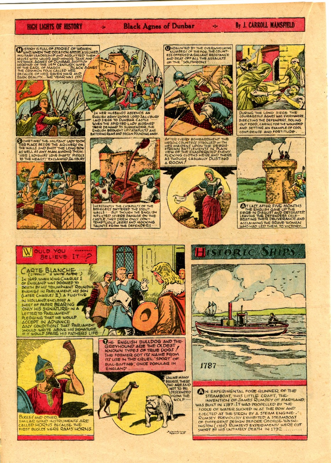 Read online Famous Funnies comic -  Issue #101 - 36