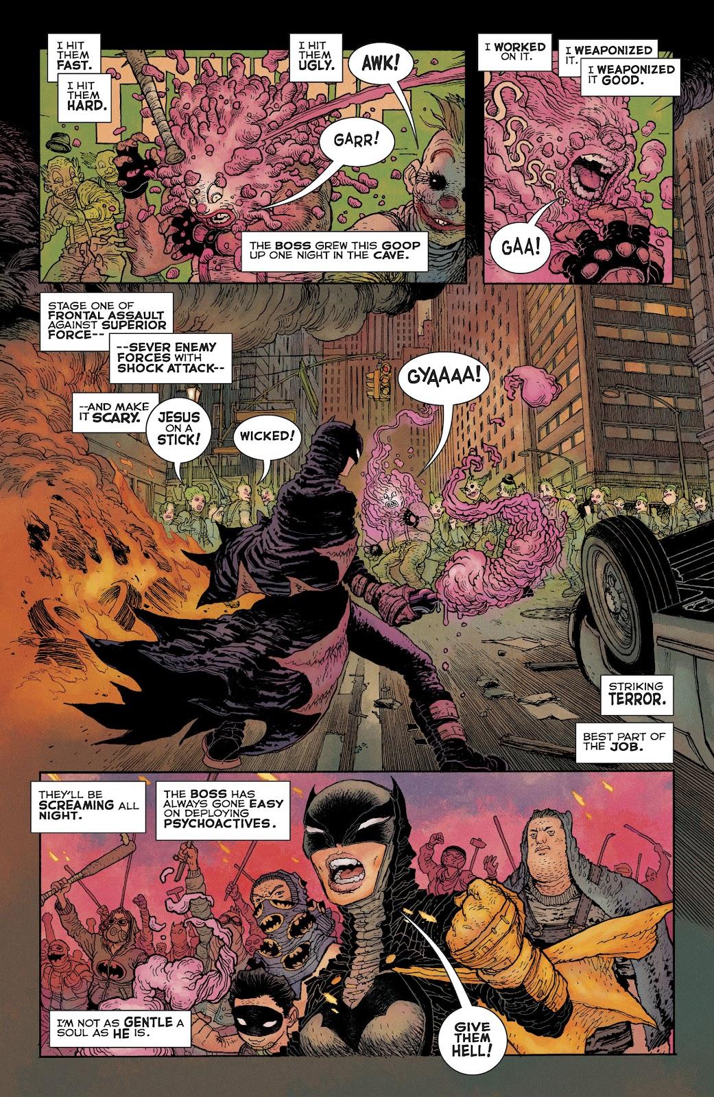 Dark Knight Returns: The Golden Child issue Full - Page 9
