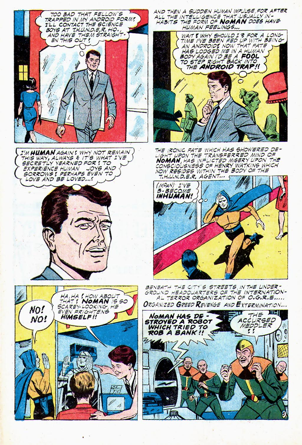 T.H.U.N.D.E.R. Agents (1965) issue 13 - Page 16