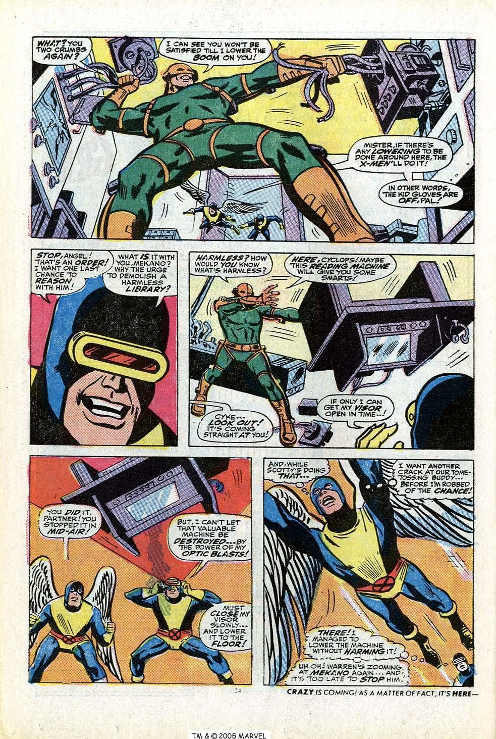 Uncanny X-Men (1963) 84 Page 25