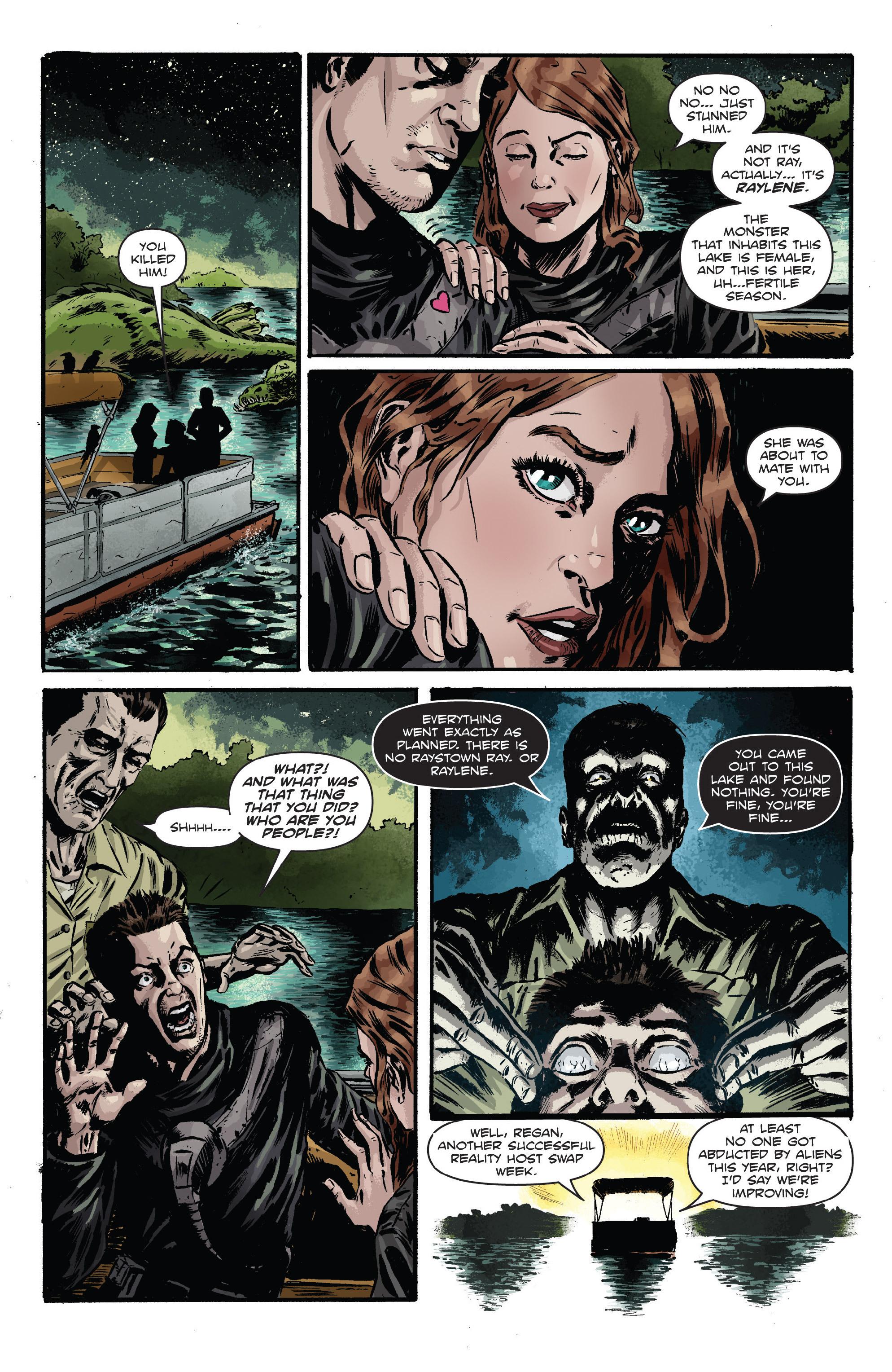 Read online Hoax Hunters (2012) comic -  Issue # TPB 3 - 127