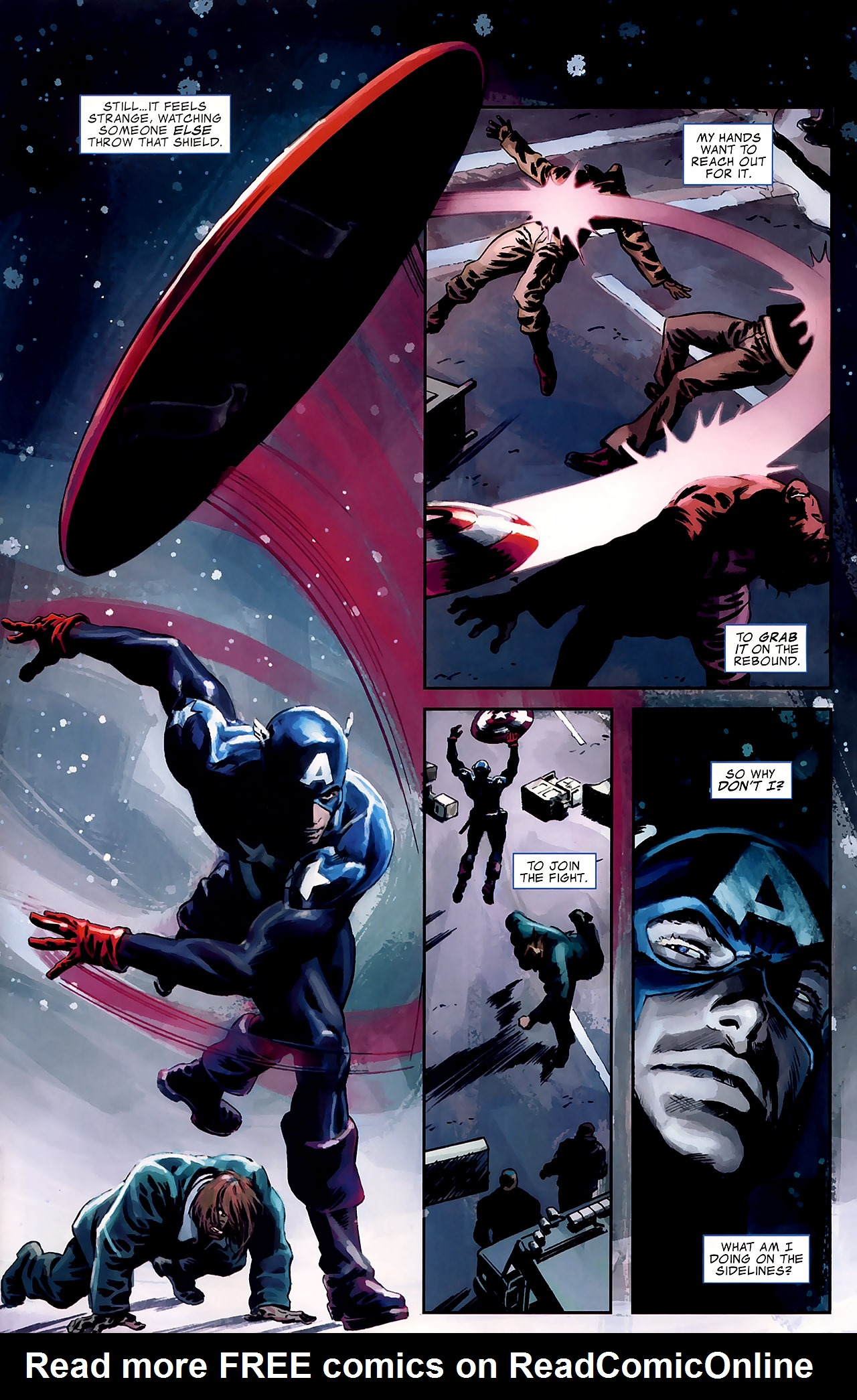 Read online Captain America Reborn: Who Will Wield the Shield? comic -  Issue # Full - 18
