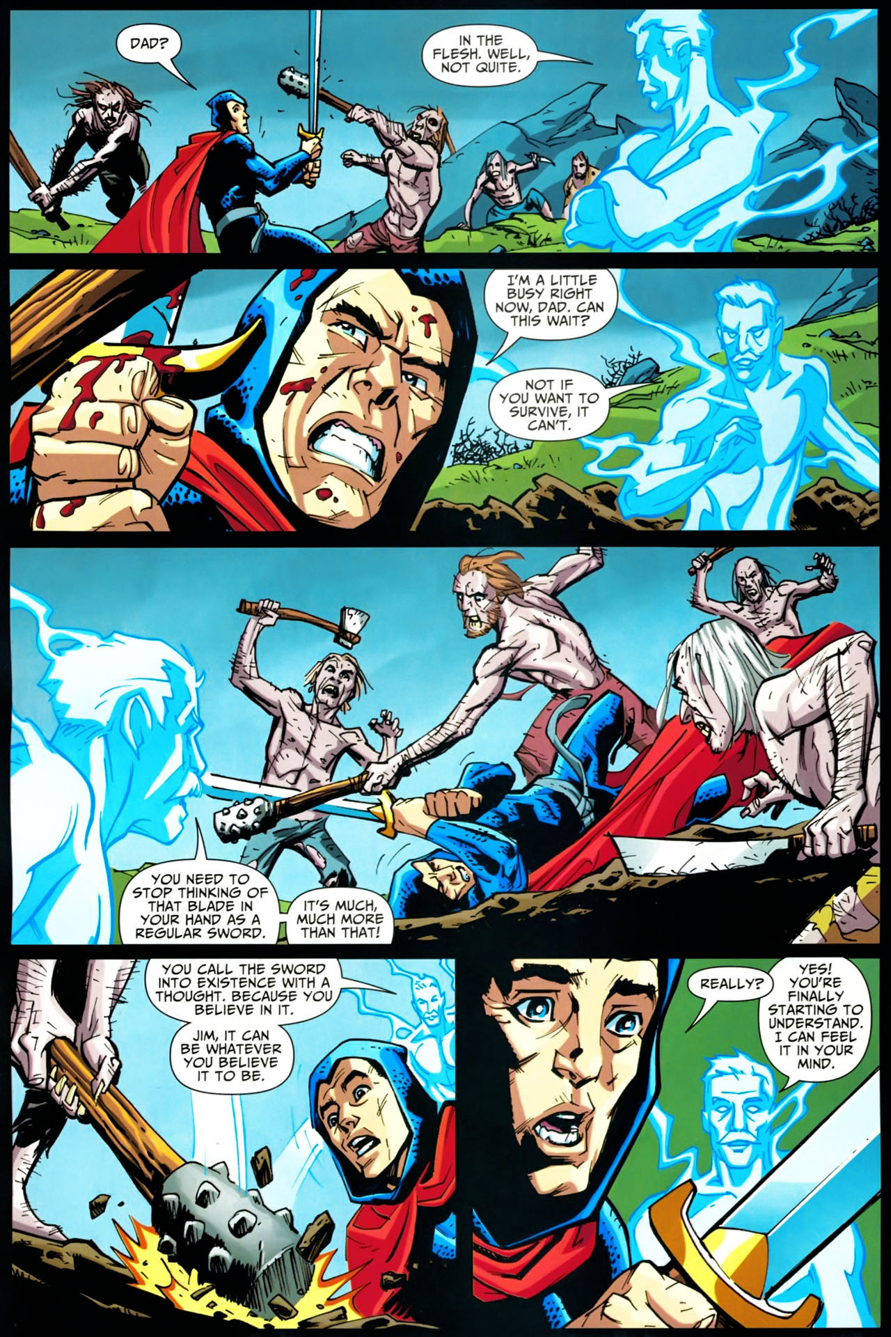 Read online Shadowpact comic -  Issue #20 - 5