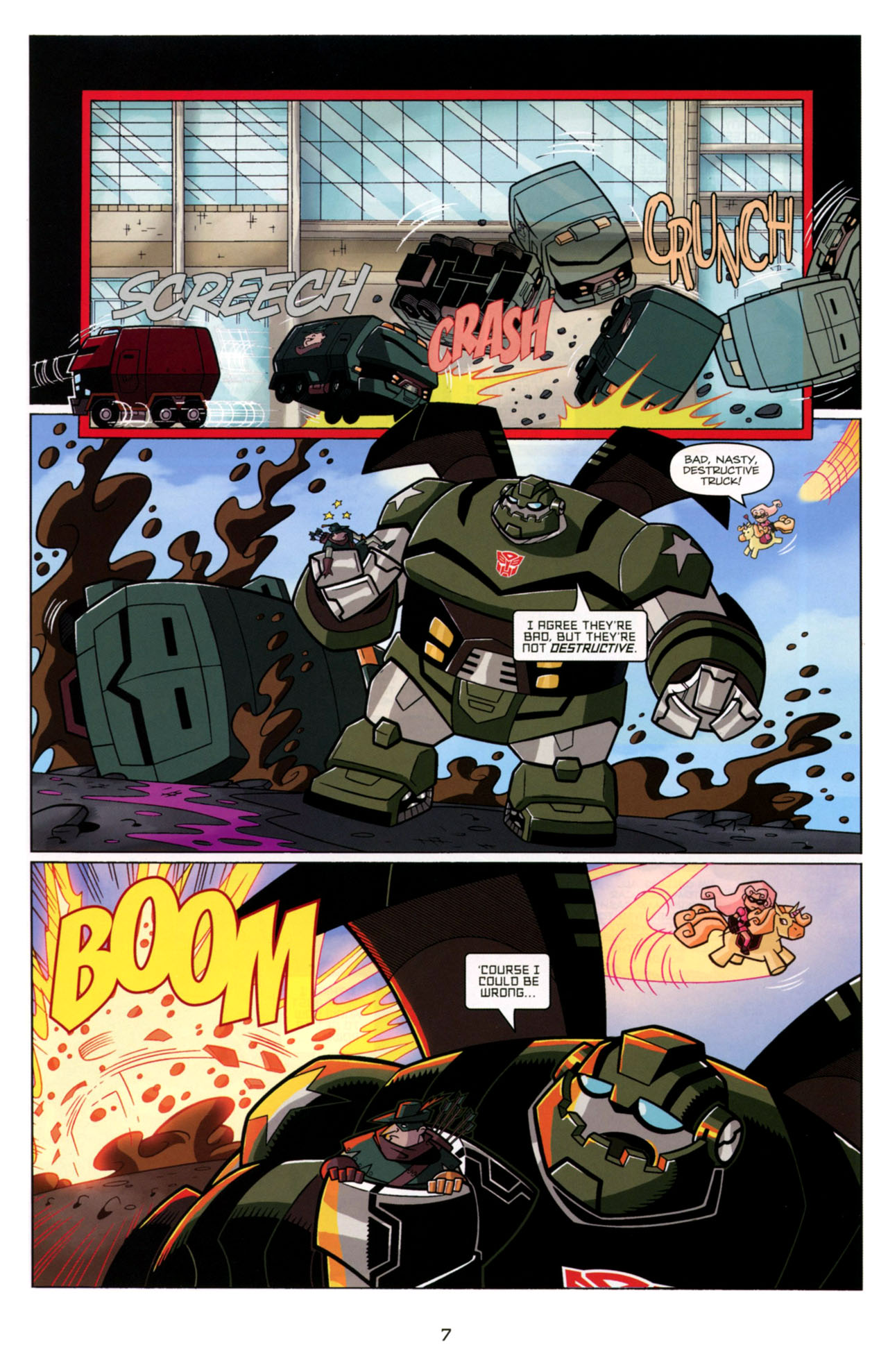 Read online Transformers Animated: The Arrival comic -  Issue #4 - 10