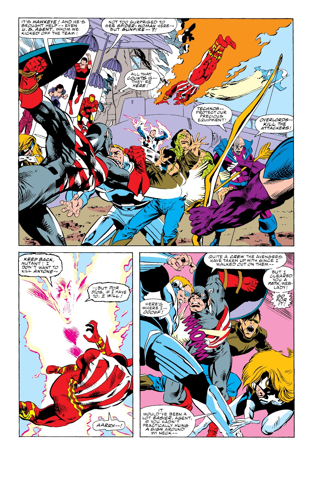 Avengers West Coast (1989) issue 74 - Page 6