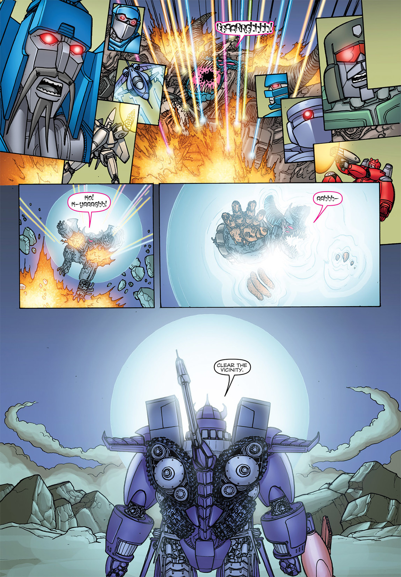 Read online Transformers: Heart of Darkness comic -  Issue #4 - 19