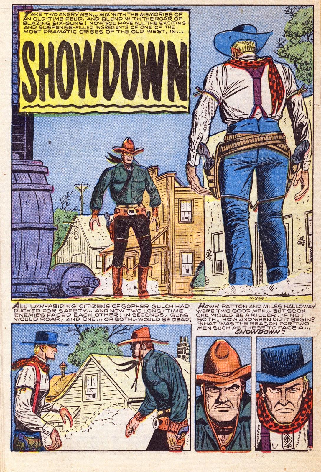 Gunsmoke Western issue 38 - Page 23