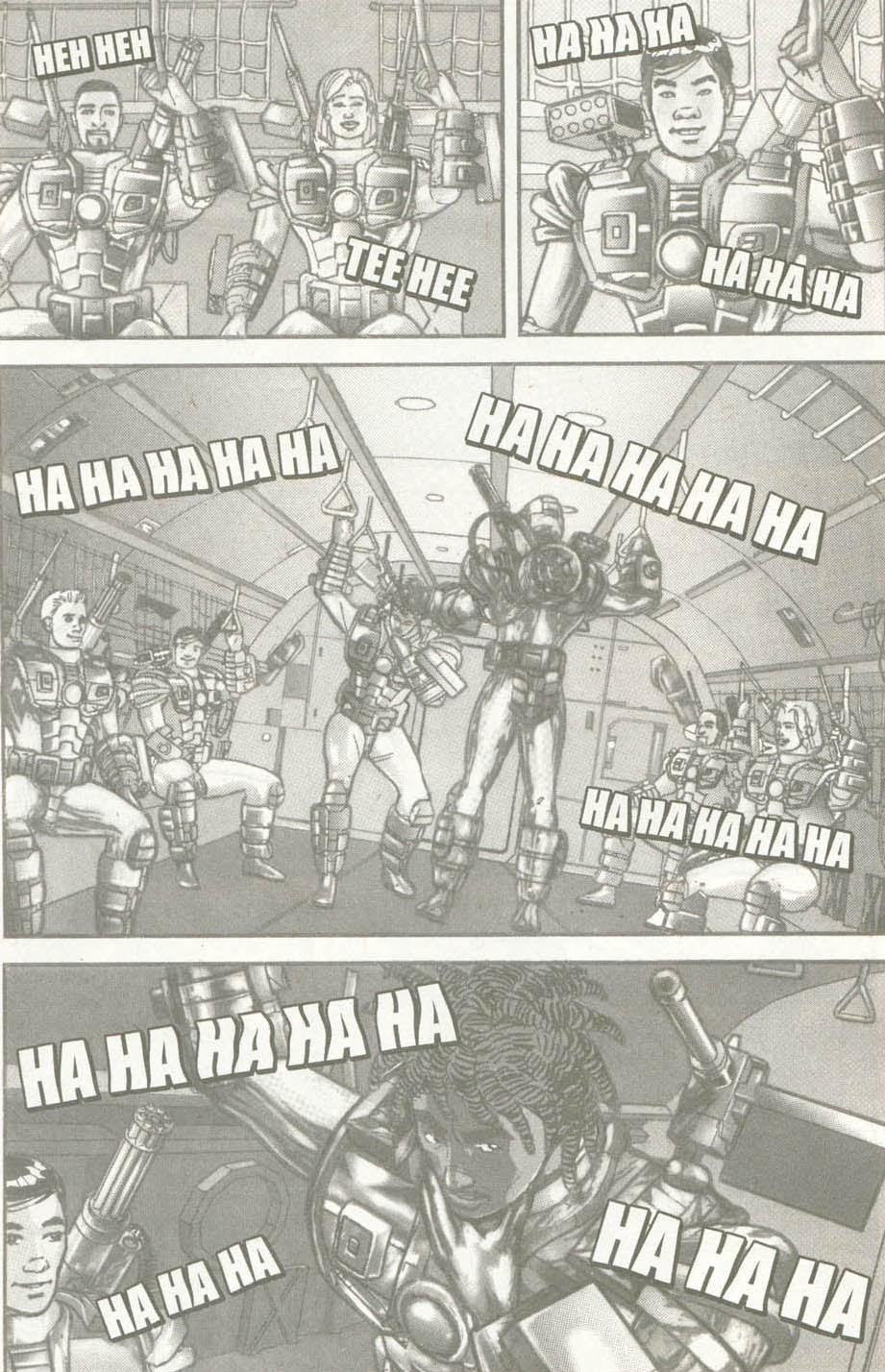 Read online U.S. War Machine comic -  Issue #6 - 9