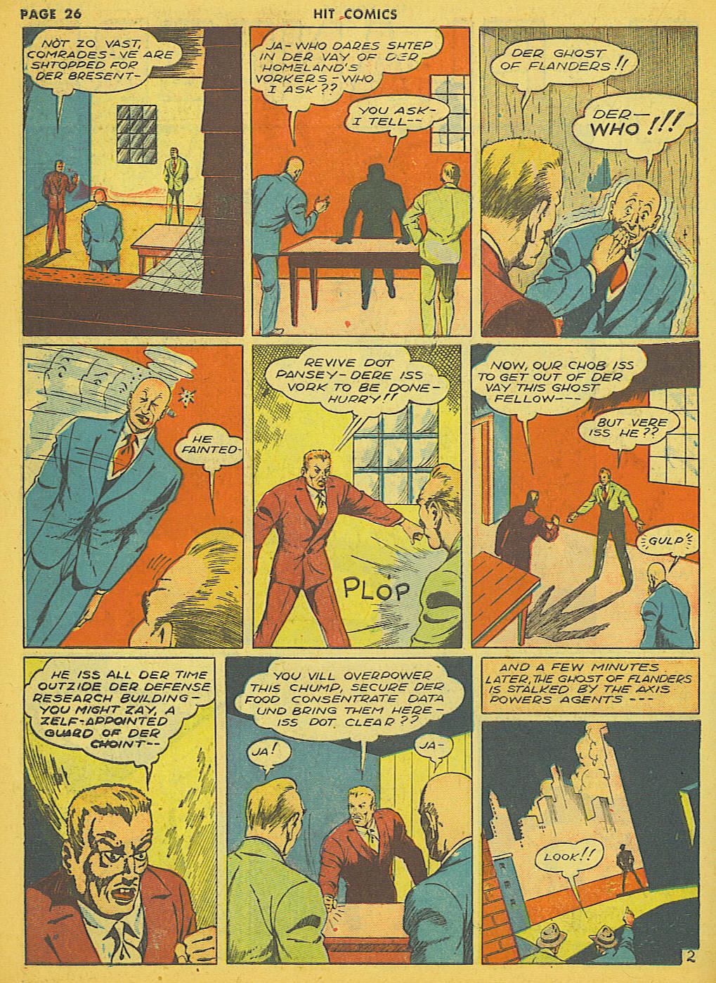 Read online Hit Comics comic -  Issue #21 - 28