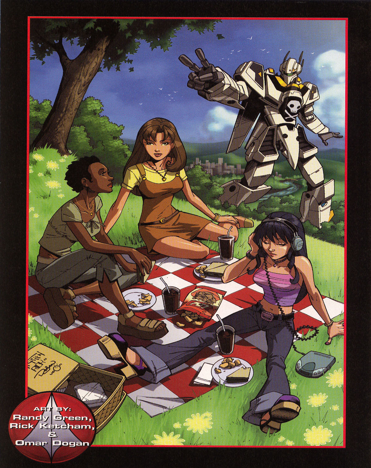 Robotech (2003) issue 0 - Page 23