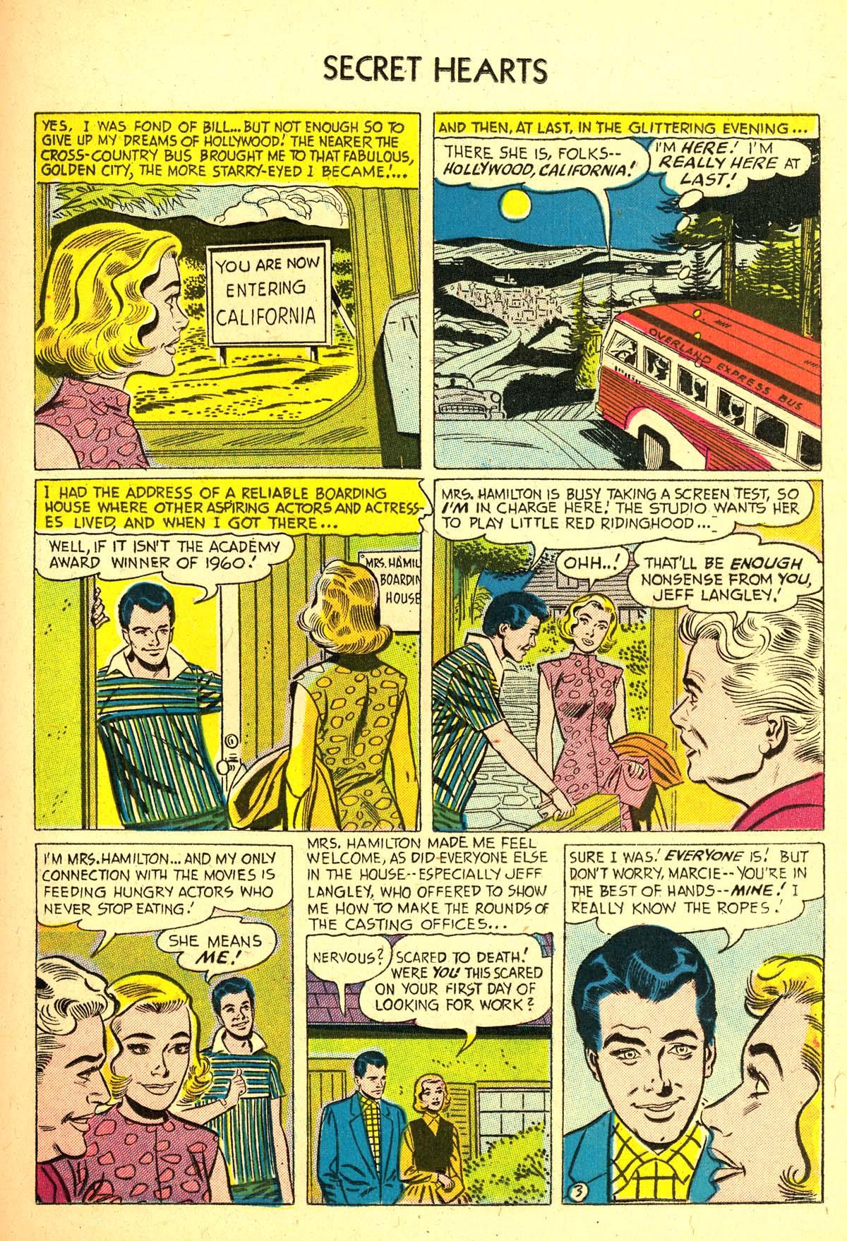 Read online Secret Hearts comic -  Issue #37 - 21