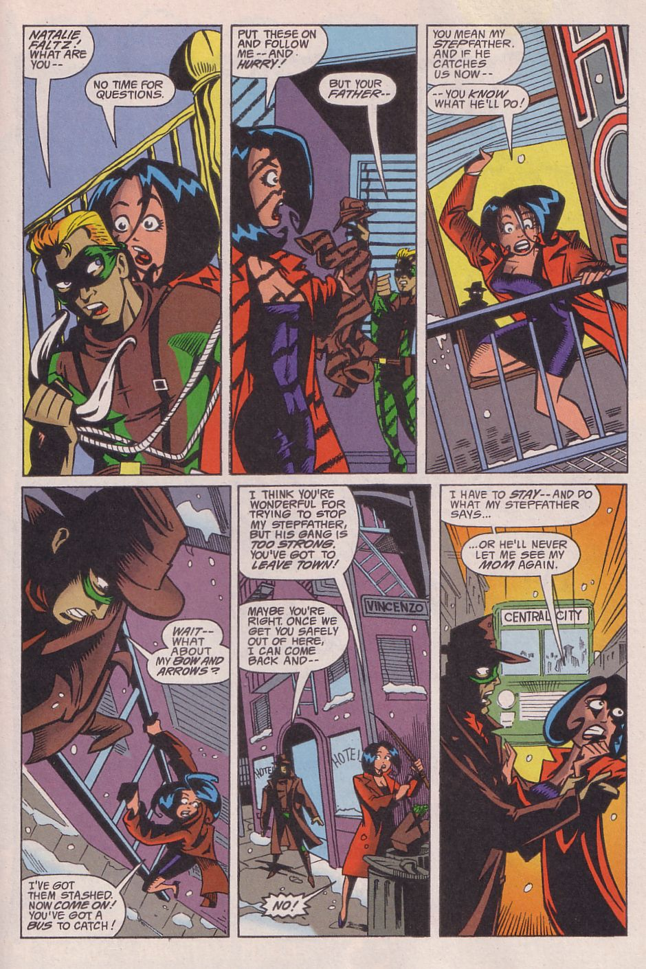 Read online Adventures in the DC Universe comic -  Issue #13 - 18
