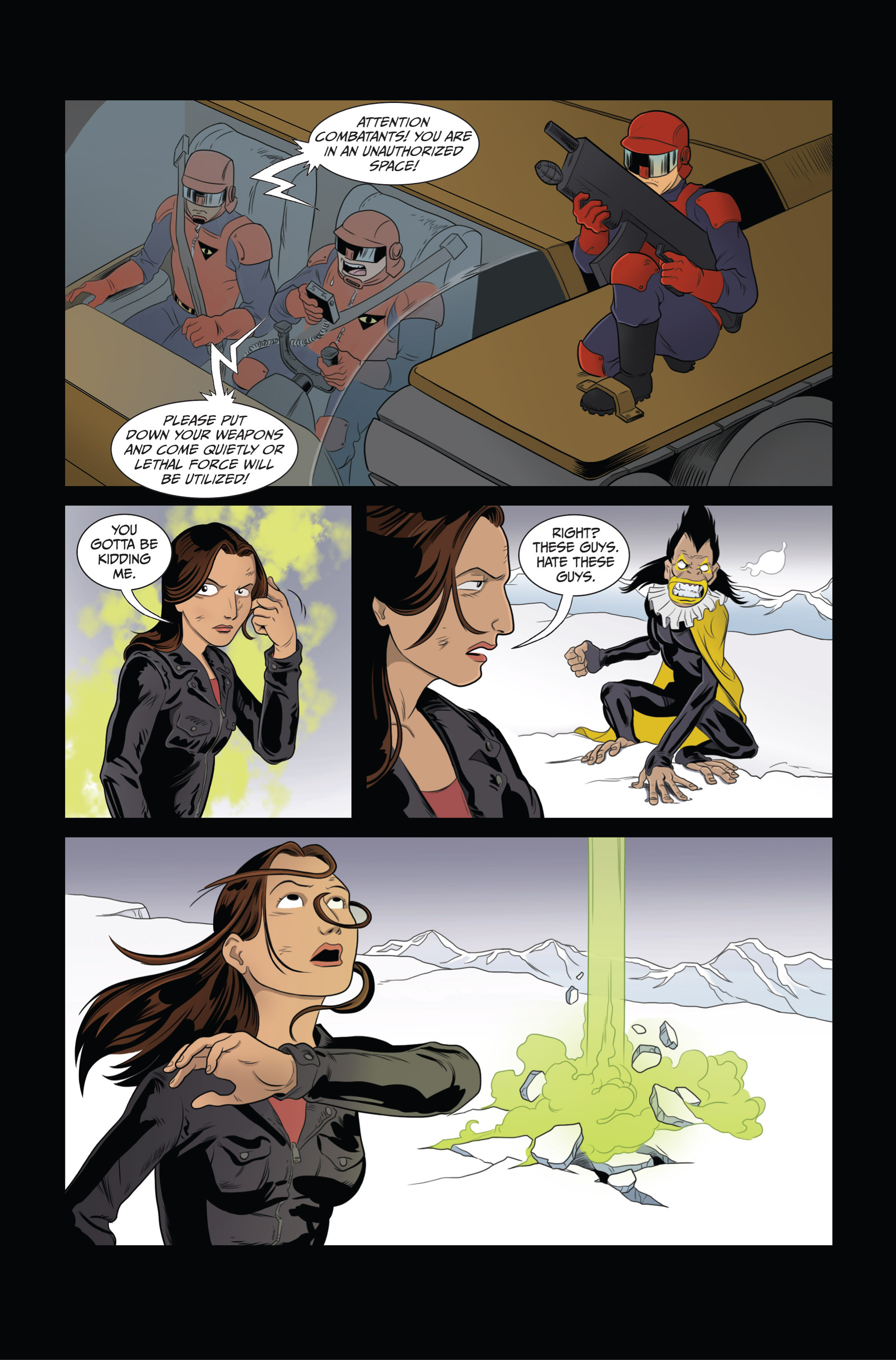 Read online Ehmm Theory: Everything & Small Doses comic -  Issue #3 - 11