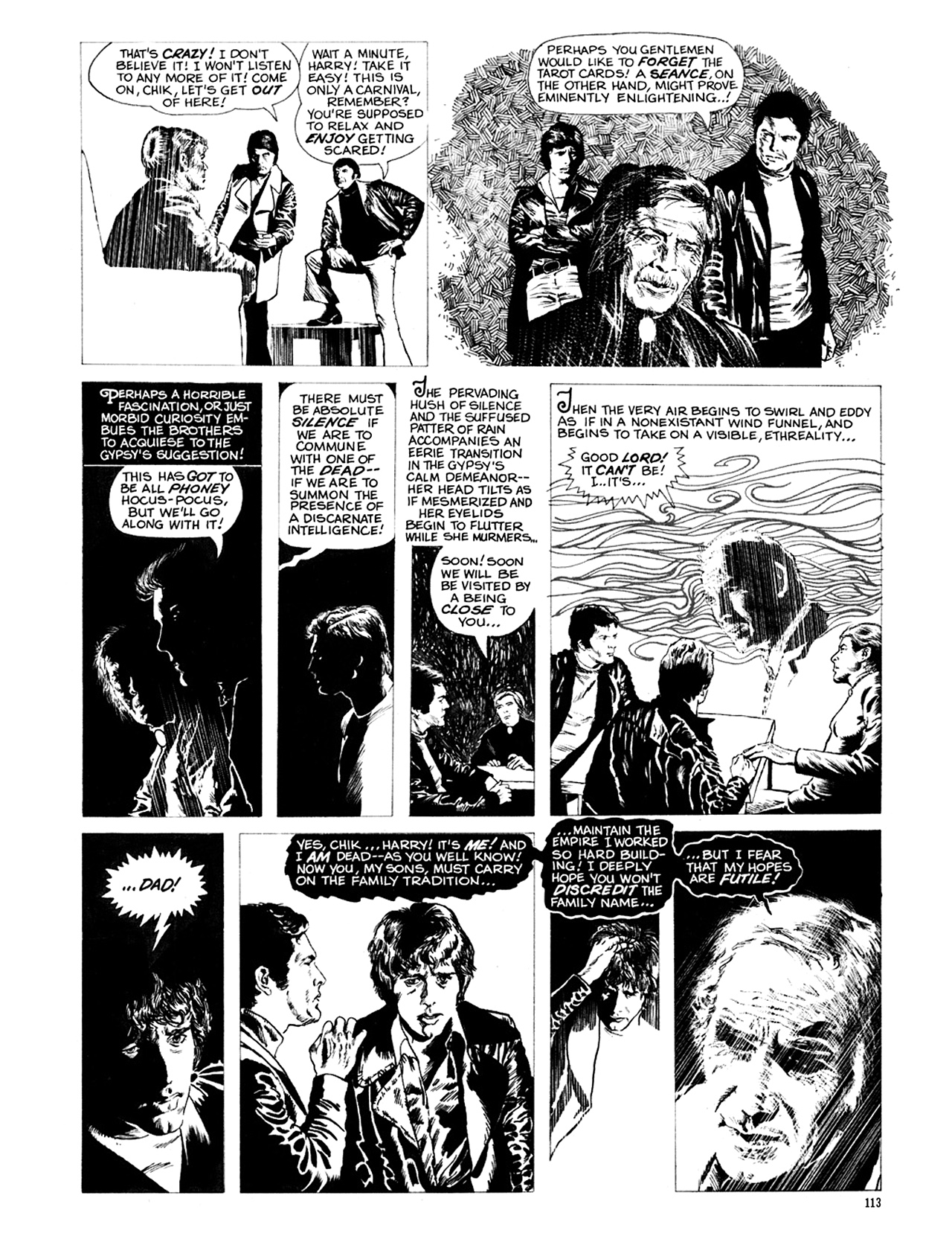 Read online Eerie Archives comic -  Issue # TPB 9 - 114