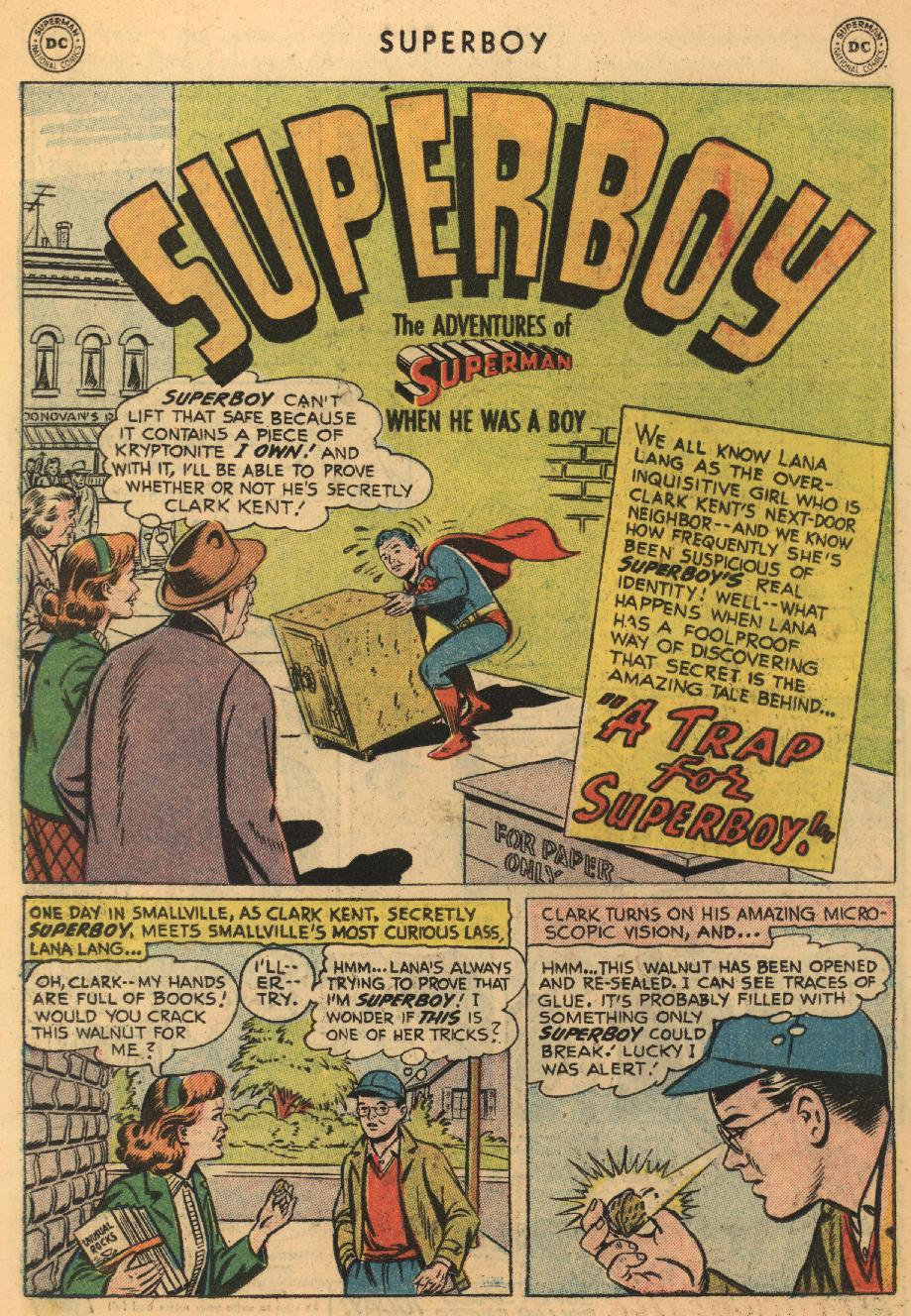 Superboy (1949) issue 45 - Page 22