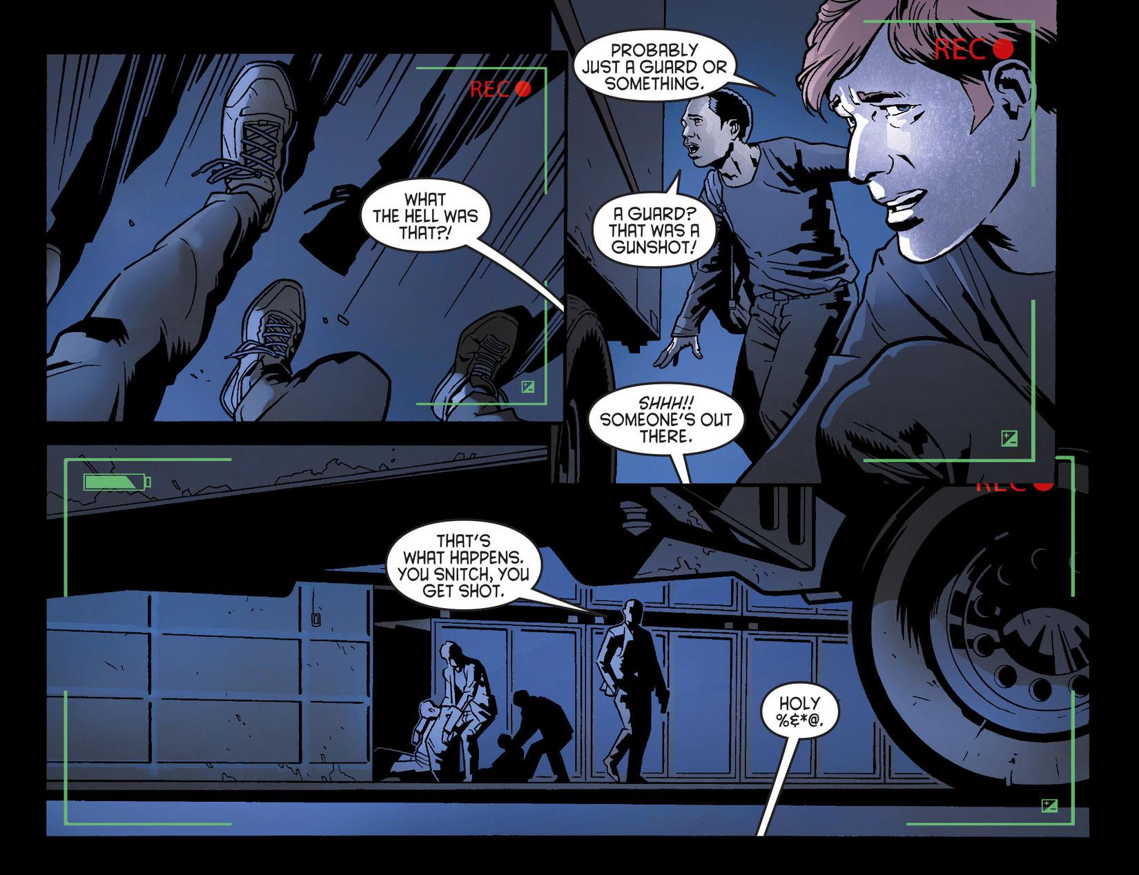 Read online Arrow [II] comic -  Issue #8 - 9