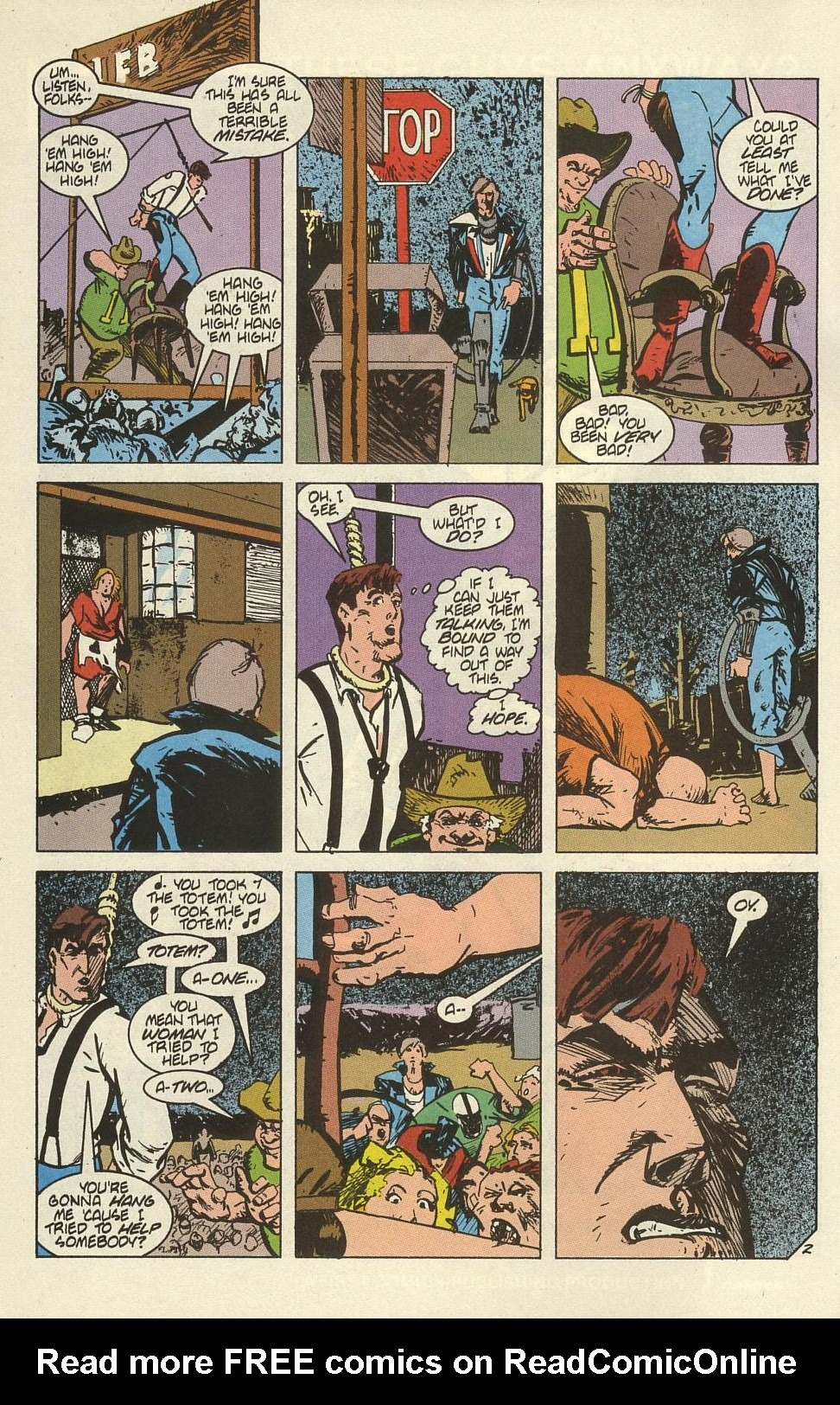 Read online American Flagg! comic -  Issue #41 - 4