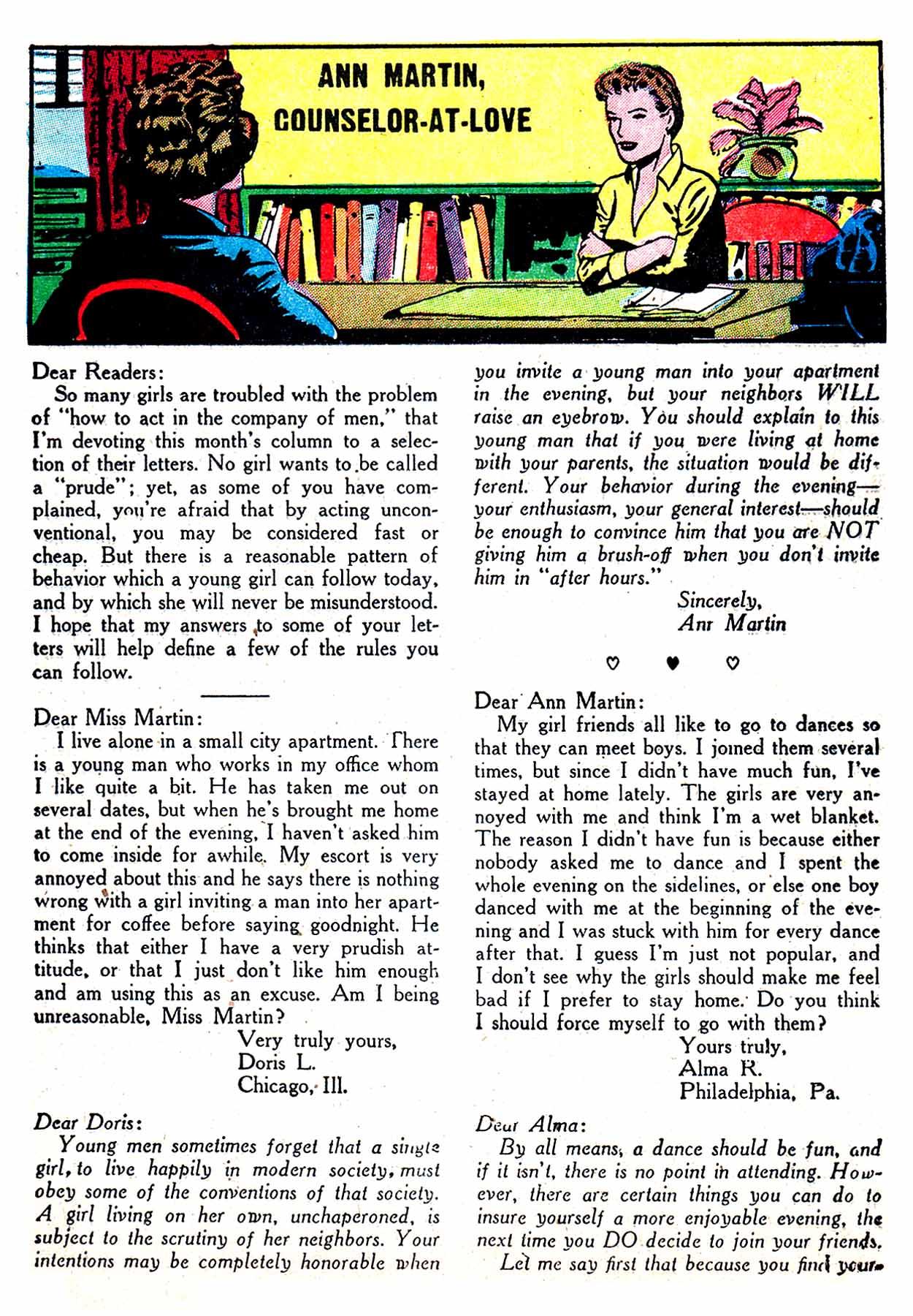 Read online Secret Hearts comic -  Issue #8 - 25