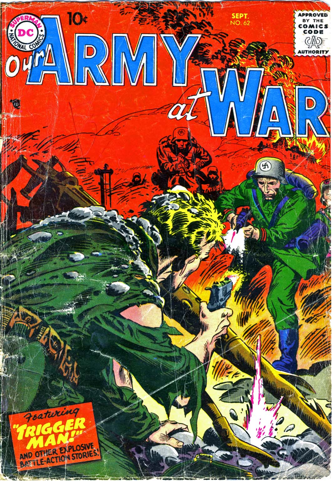 Our Army at War (1952) issue 62 - Page 1