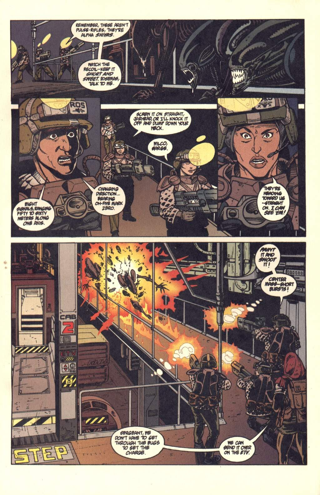 Read online Aliens: Colonial Marines comic -  Issue #7 - 16