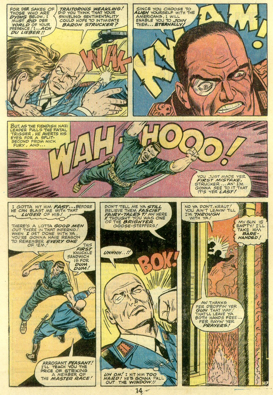 Read online Sgt. Fury comic -  Issue #131 - 16