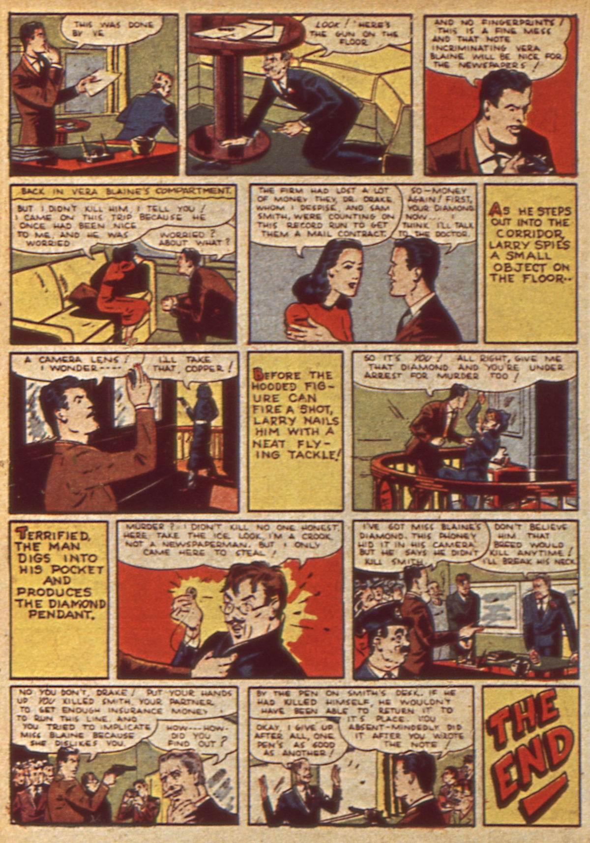 Read online Detective Comics (1937) comic -  Issue #49 - 36