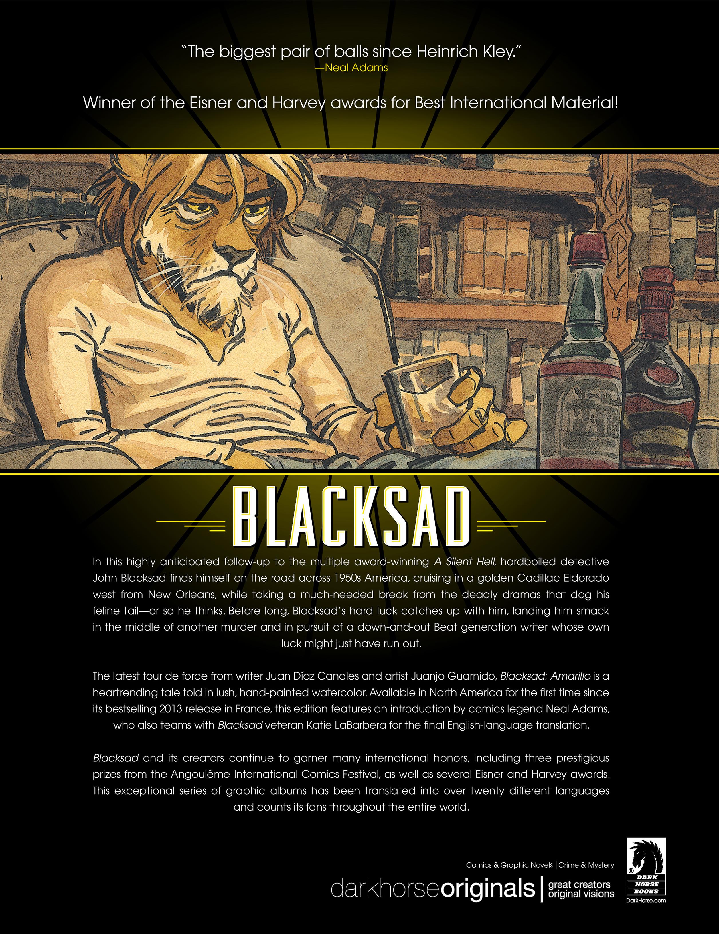 Read online Blacksad: Amarillo comic -  Issue # Full - 70