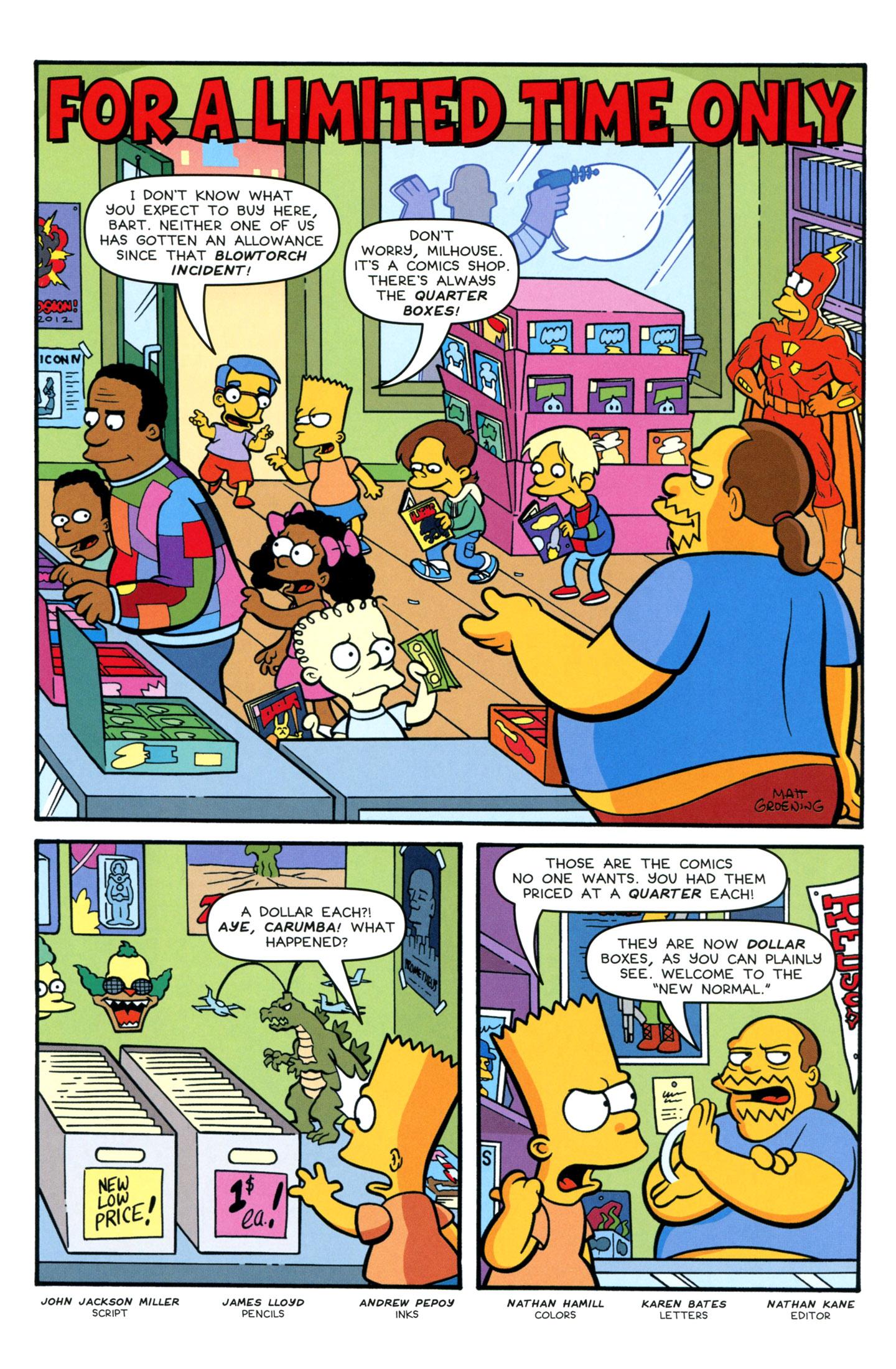 Read online Simpsons Comics Presents Bart Simpson comic -  Issue #77 - 17
