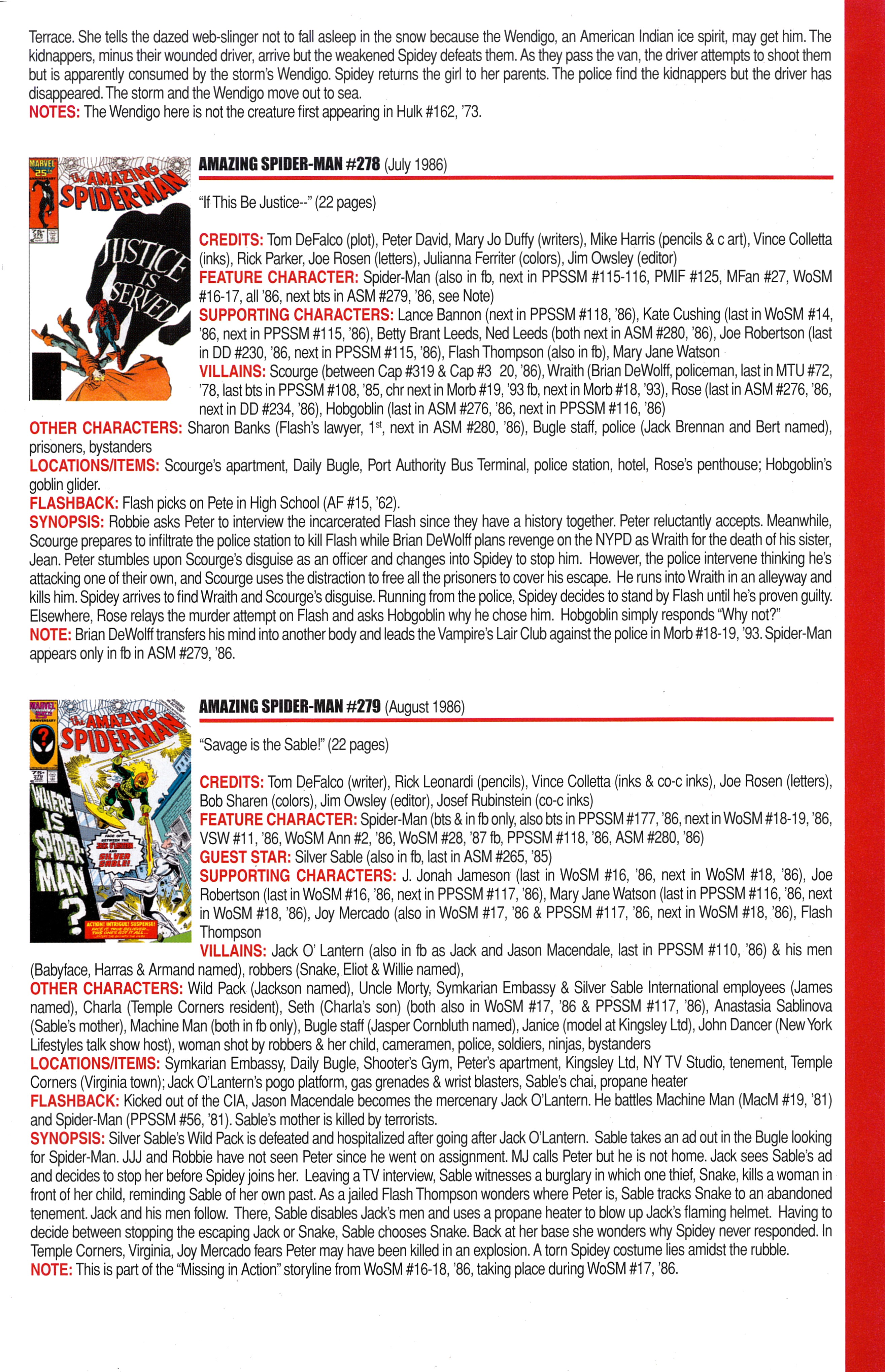 Read online Official Index to the Marvel Universe comic -  Issue #6 - 19