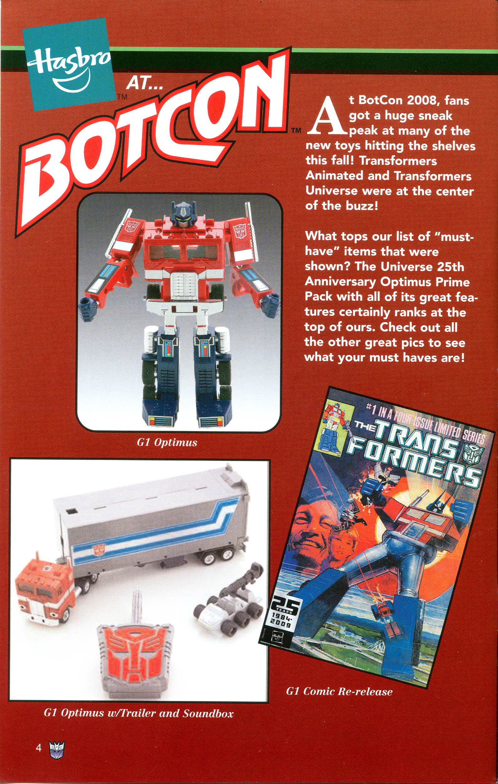 Read online Transformers: Collectors' Club comic -  Issue #21 - 4