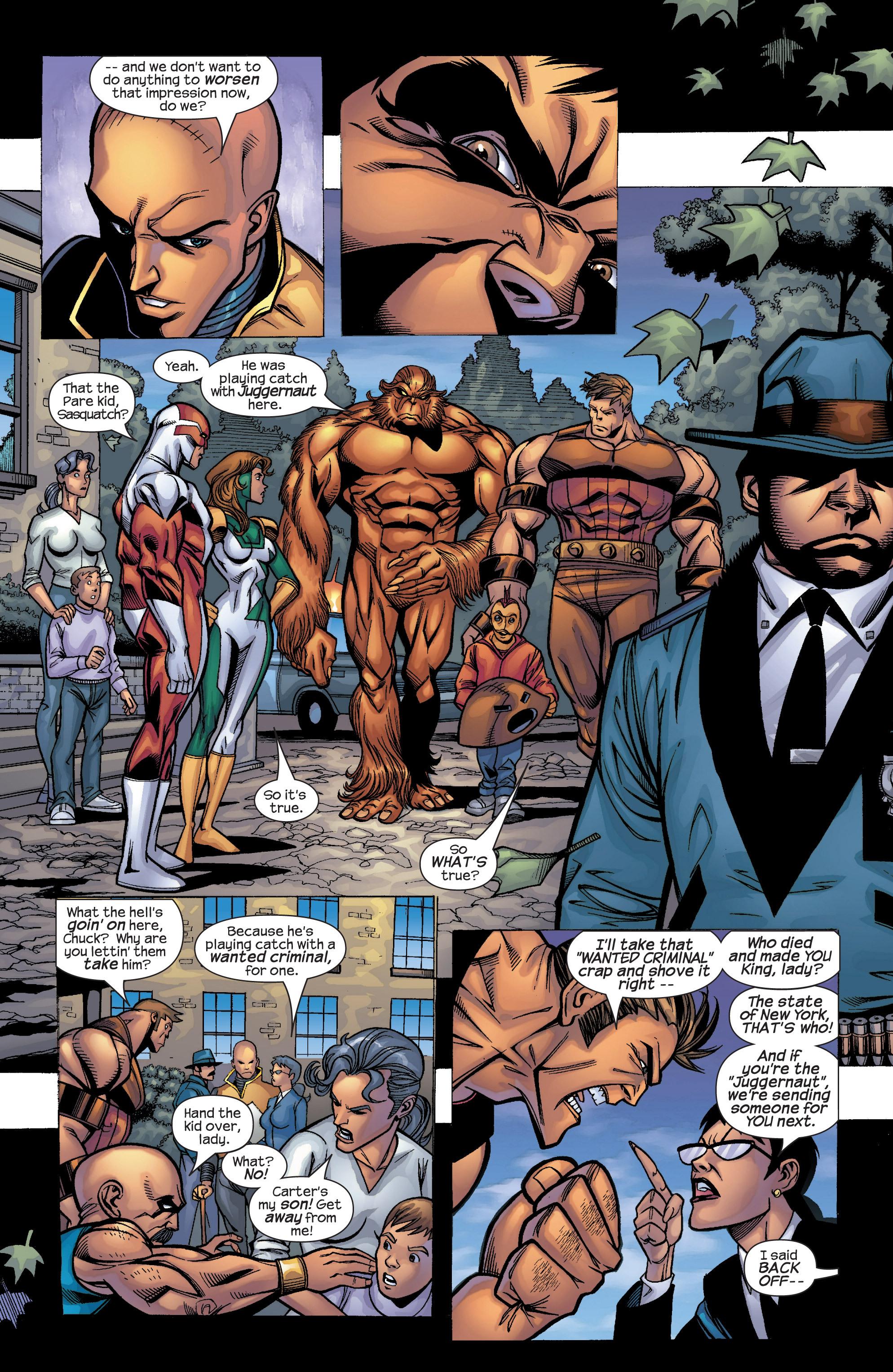 Read online Uncanny X-Men (1963) comic -  Issue #422 - 17