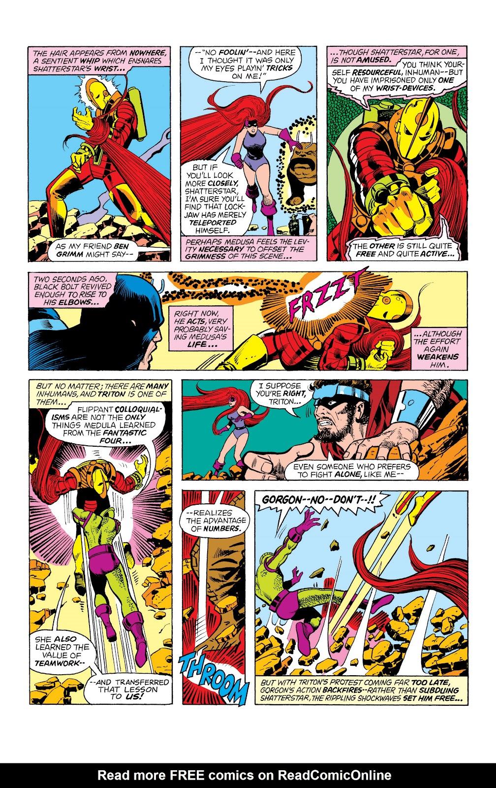 Read online Marvel Masterworks: The Inhumans comic -  Issue # TPB 2 (Part 1) - 67