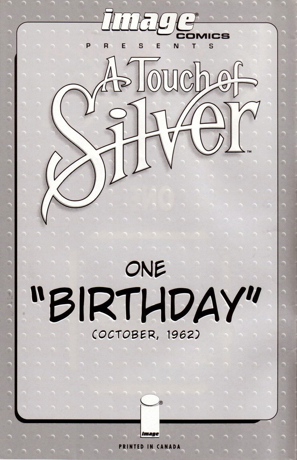 Read online A Touch of Silver comic -  Issue #1 - 2