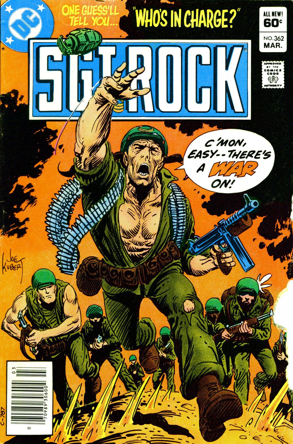 Read online Sgt. Rock comic -  Issue #362 - 1