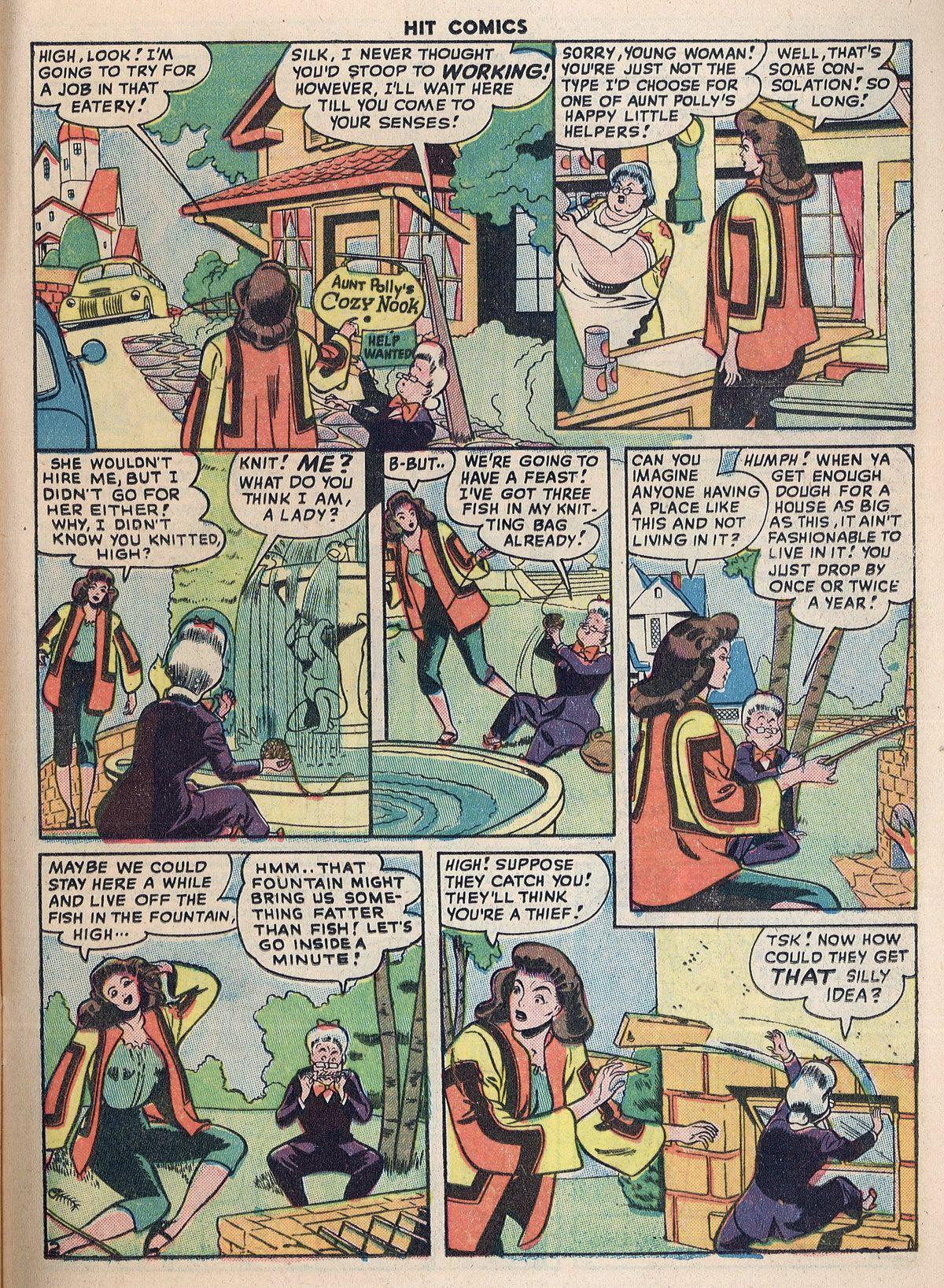 Read online Hit Comics comic -  Issue #55 - 17