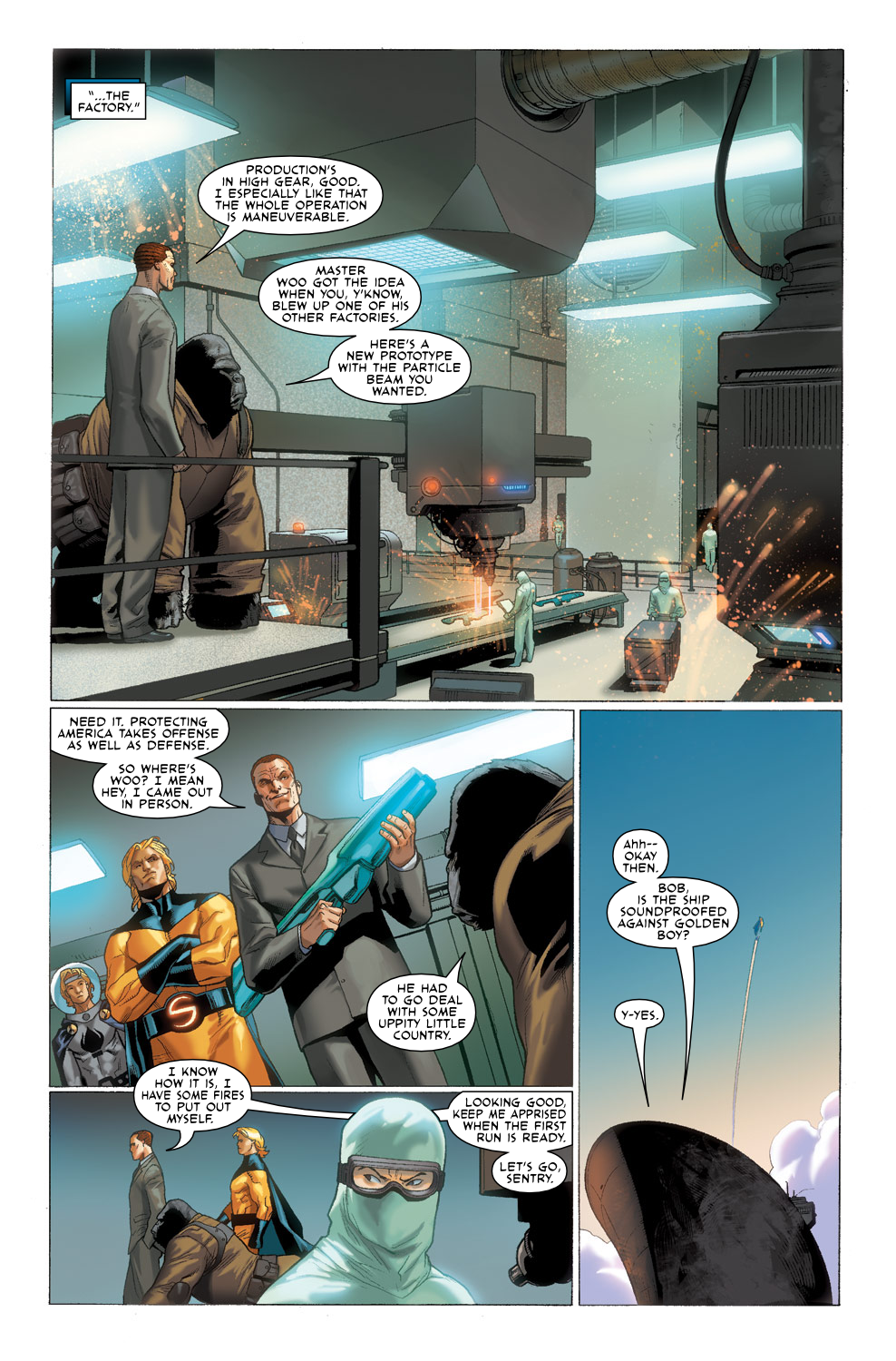 Read online Agents Of Atlas (2009) comic -  Issue #3 - 20