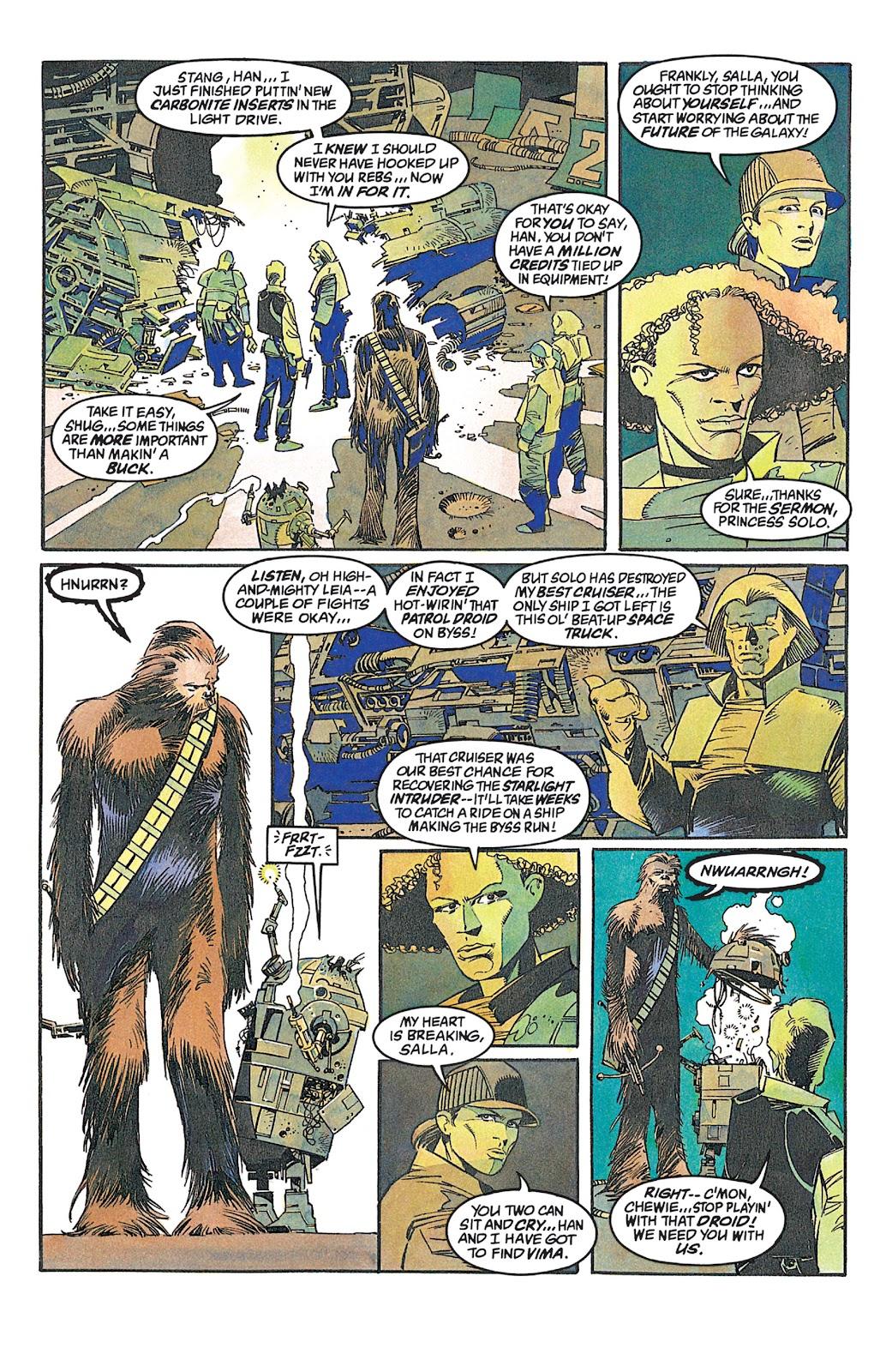 Read online Star Wars: Dark Empire Trilogy comic -  Issue # TPB (Part 2) - 89