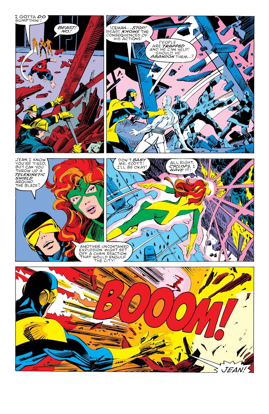 Read online X-Men Milestones: Fall of the Mutants comic -  Issue # TPB (Part 3) - 52